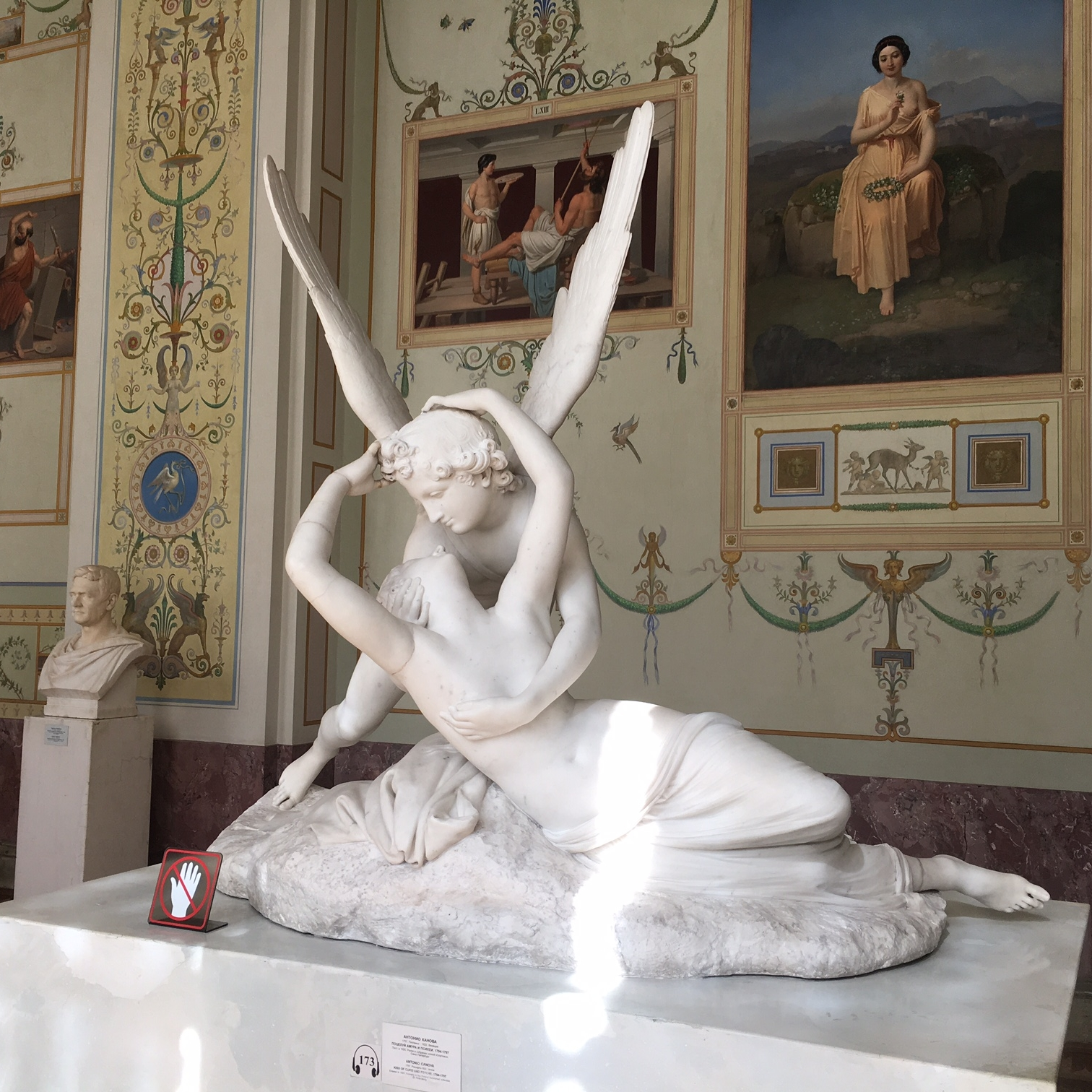 Canova at the Hermitage, St Petersburg by The Doubtful Traveller