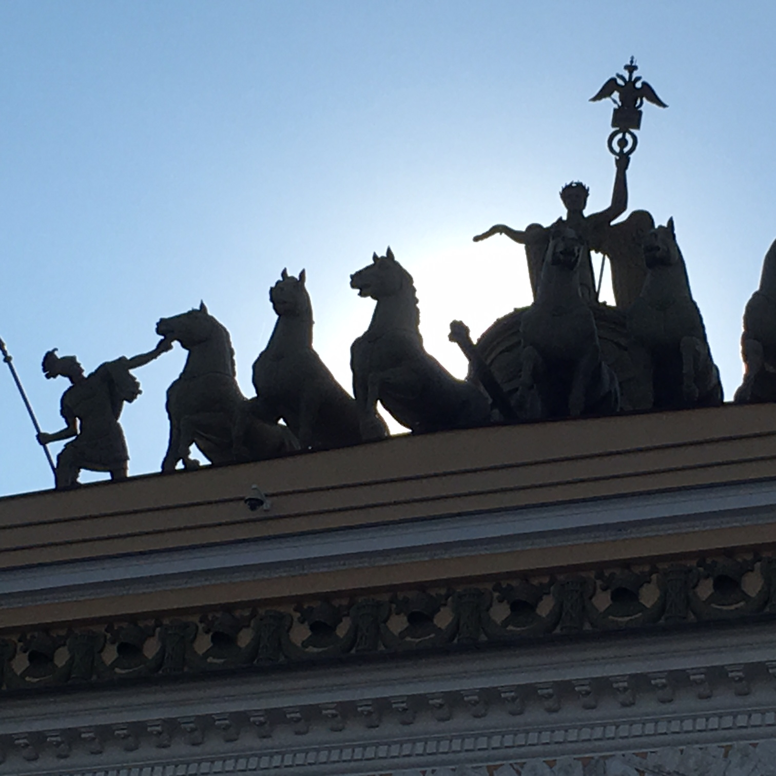 Admiralty Square, St Petersburg by The Doubtful Traveller