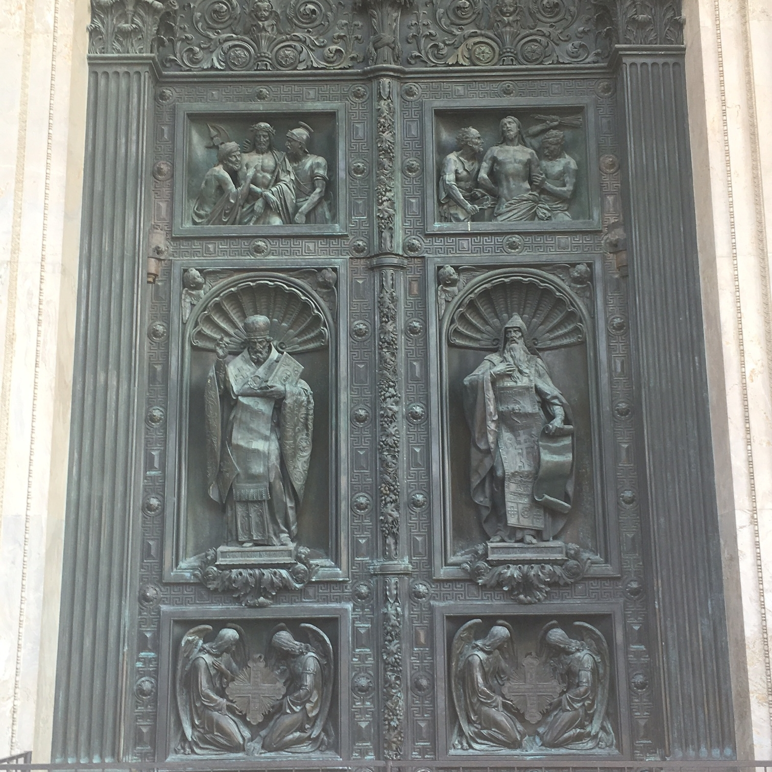 Doors of St Isaac's, St Petersburg by The Doubtful Traveller