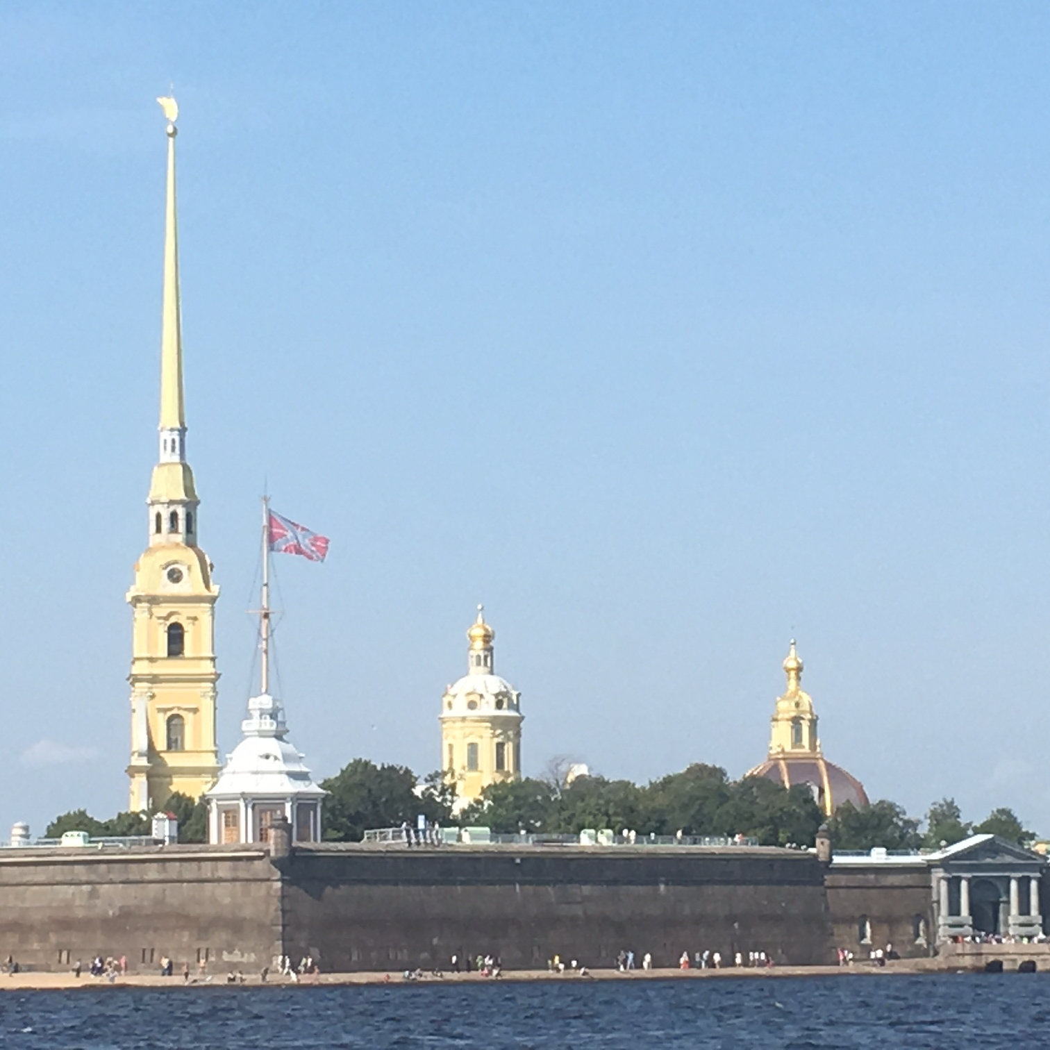 St Peter and Paul's Fortress, St Petersburg by The Doubtful Traveller