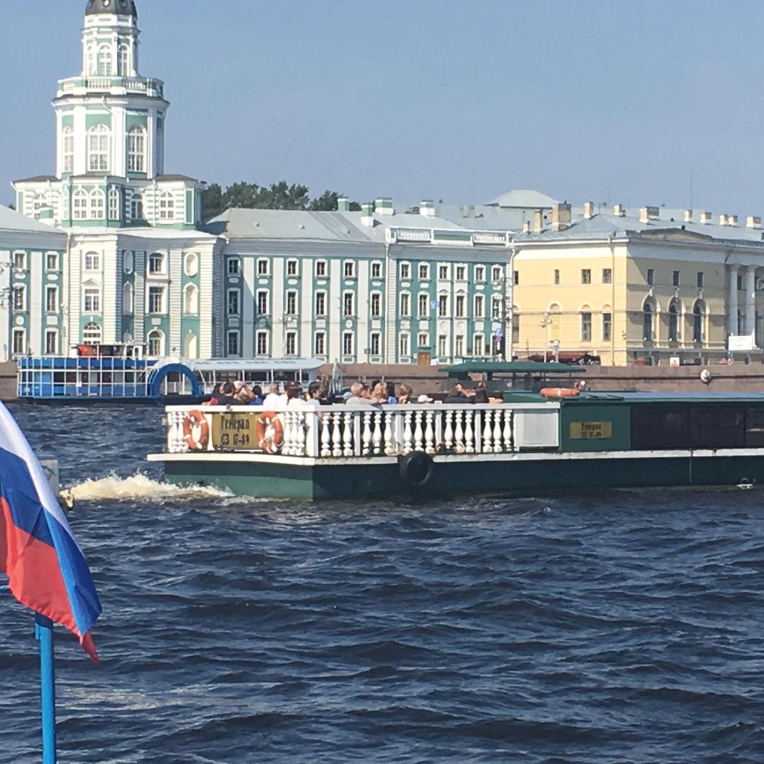 Neva River, St Petersburg by The Doubtful Traveller
