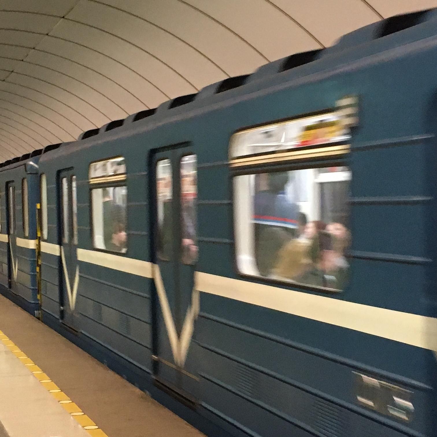 The Metro, St Petersberg by The Doubtful Traveller