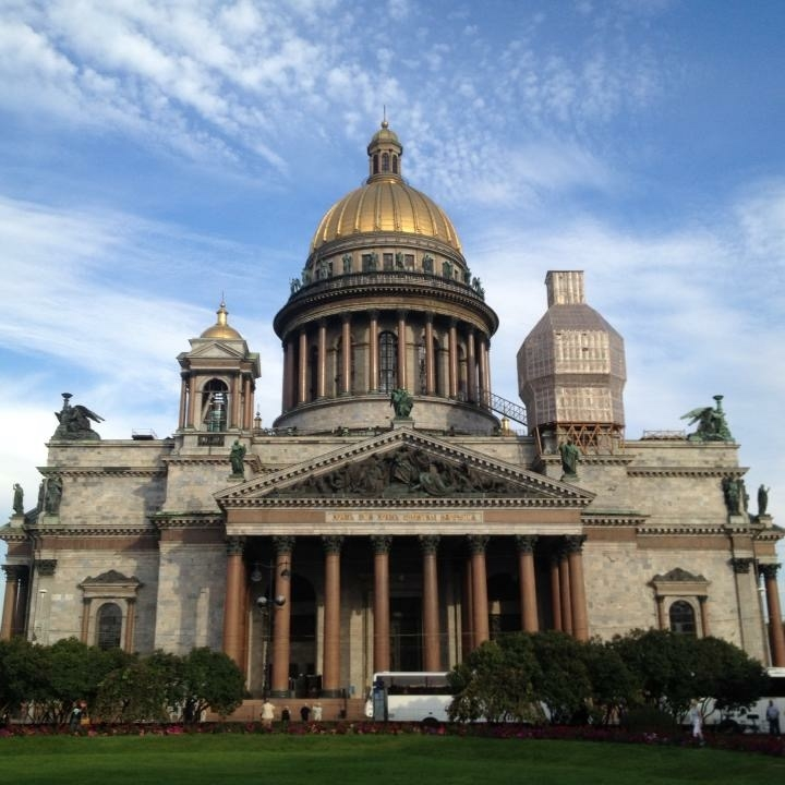 St Isaac's, St Petersburg by Kevin Nansett for The Doubtful Traveller