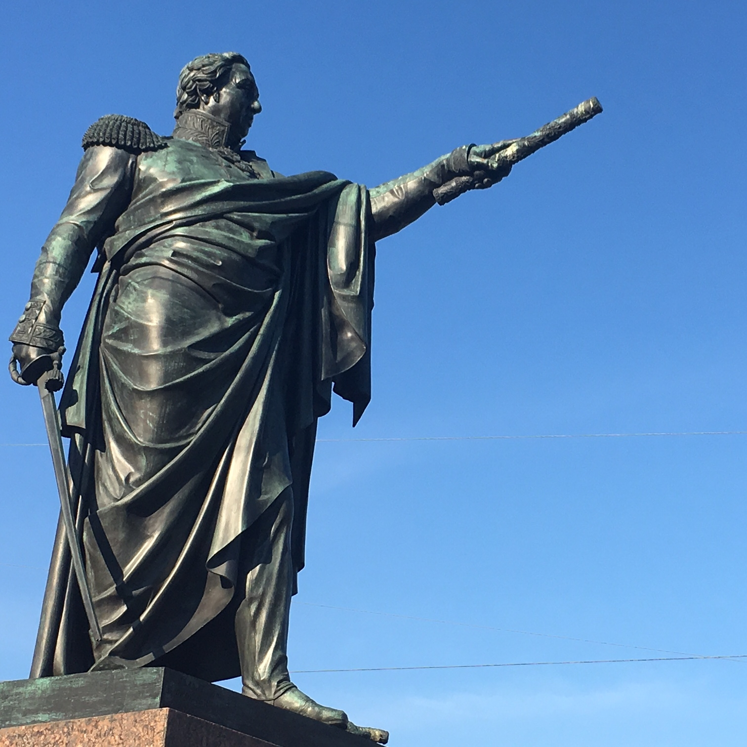 Field-Marshal Kutuzov, St Petersburg by The Doubtful Traveller