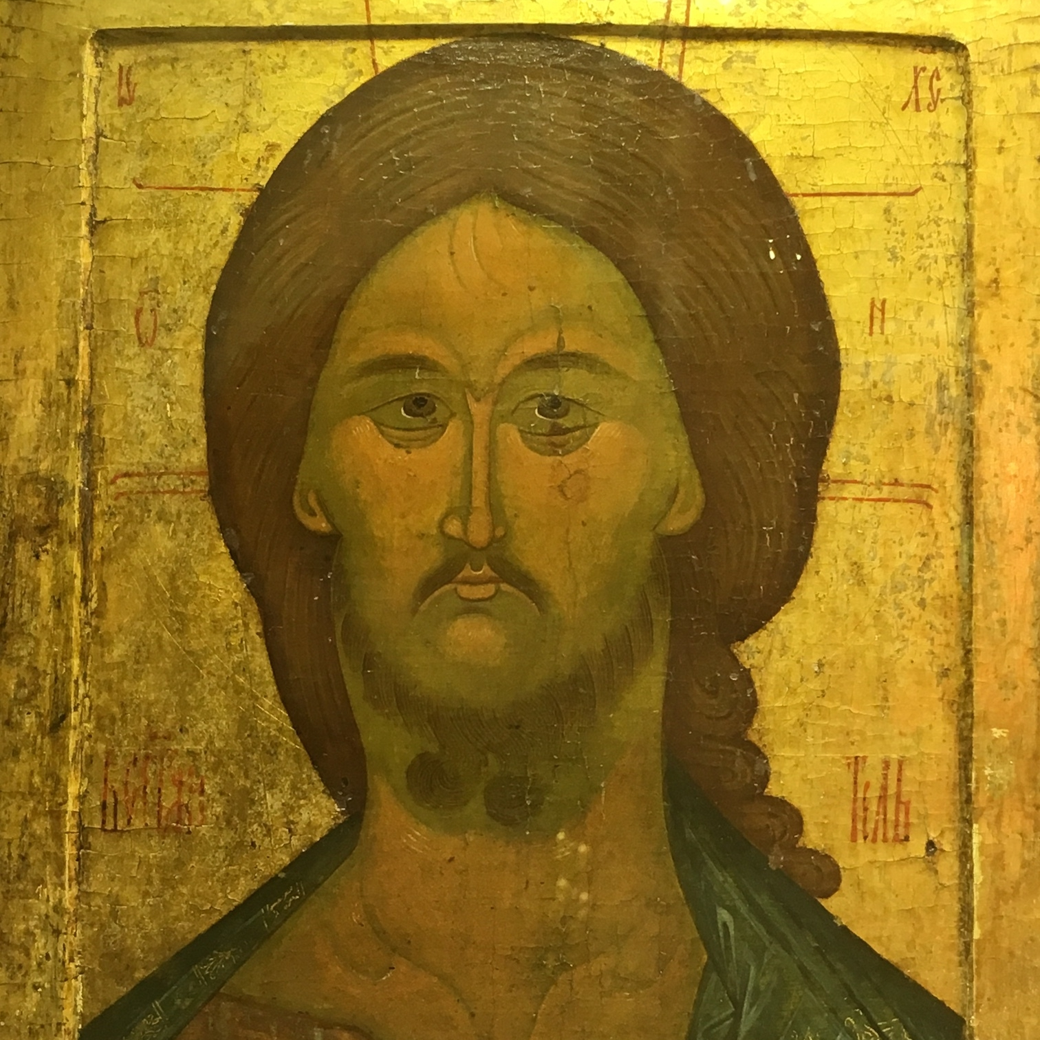 Icon from the Faberge Museum, St Petersburg by The Doubtful Traveller