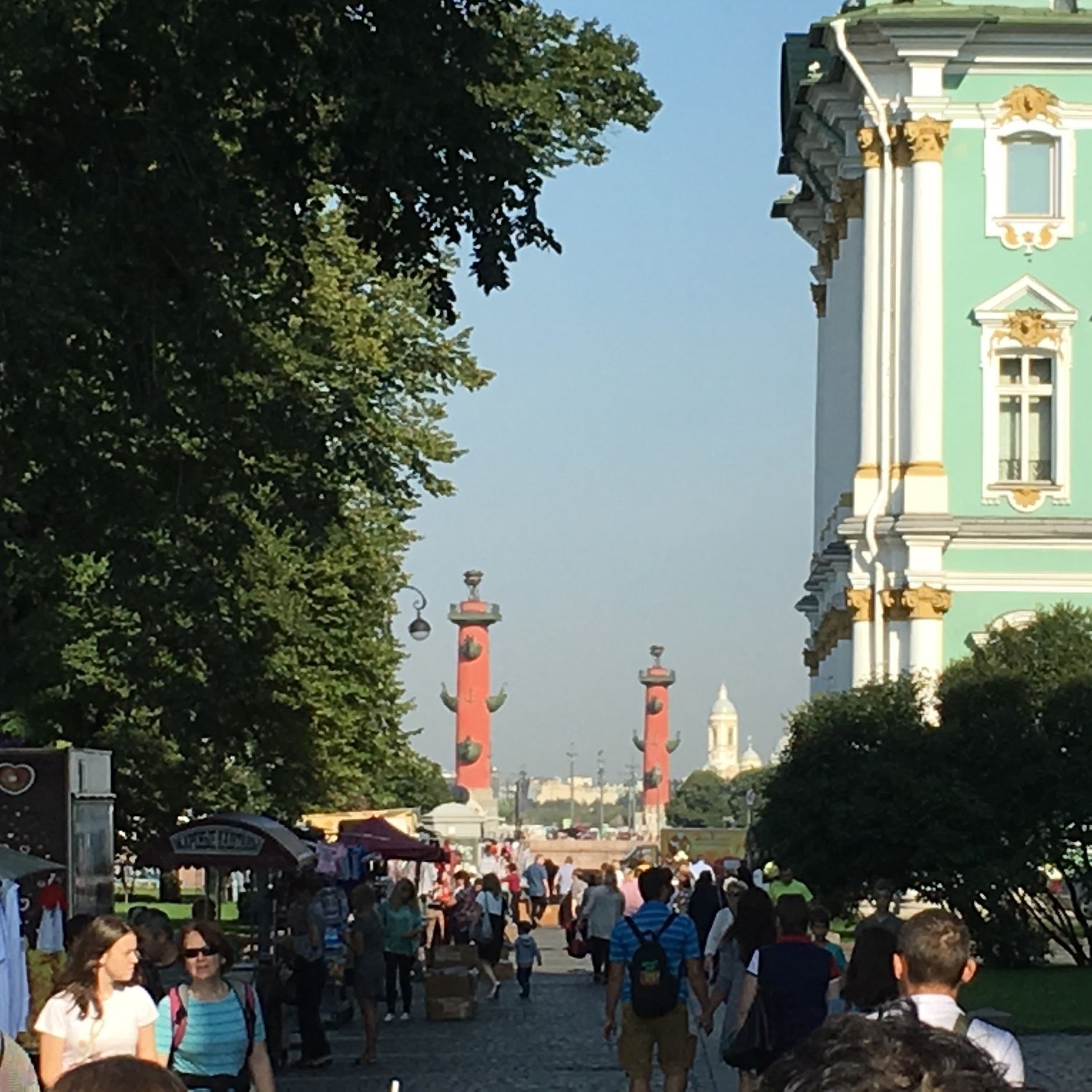 The heart of St Petersburg by The Doubtful Traveller