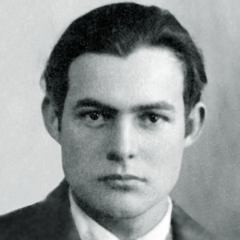 Ernest Hemingway who lived and wrote in Havana