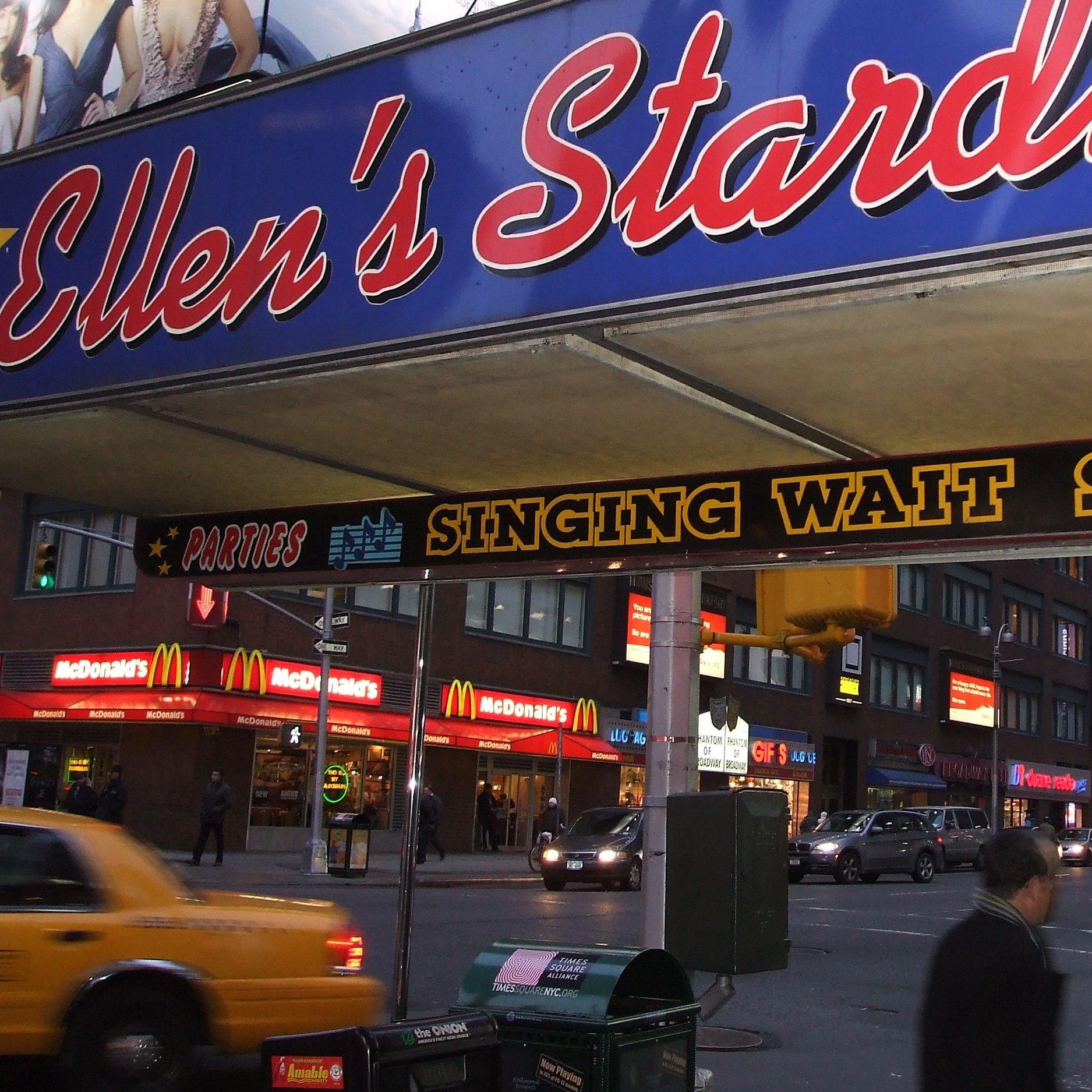 Copy of Ellen's Stardust Diner, New York by Zara Mansoor for The Doubtful Traveller