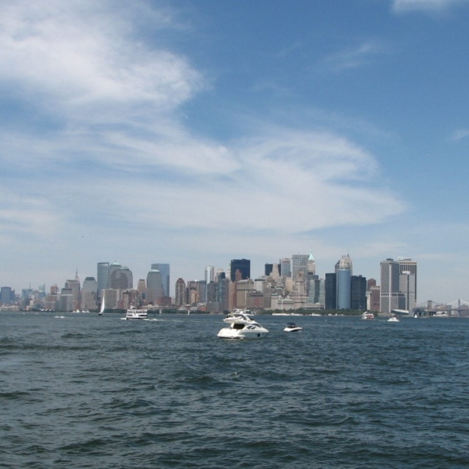 Copy of Manhatten from the Staten Island Ferry by Zara Mansoor for The Doubtful Traveller