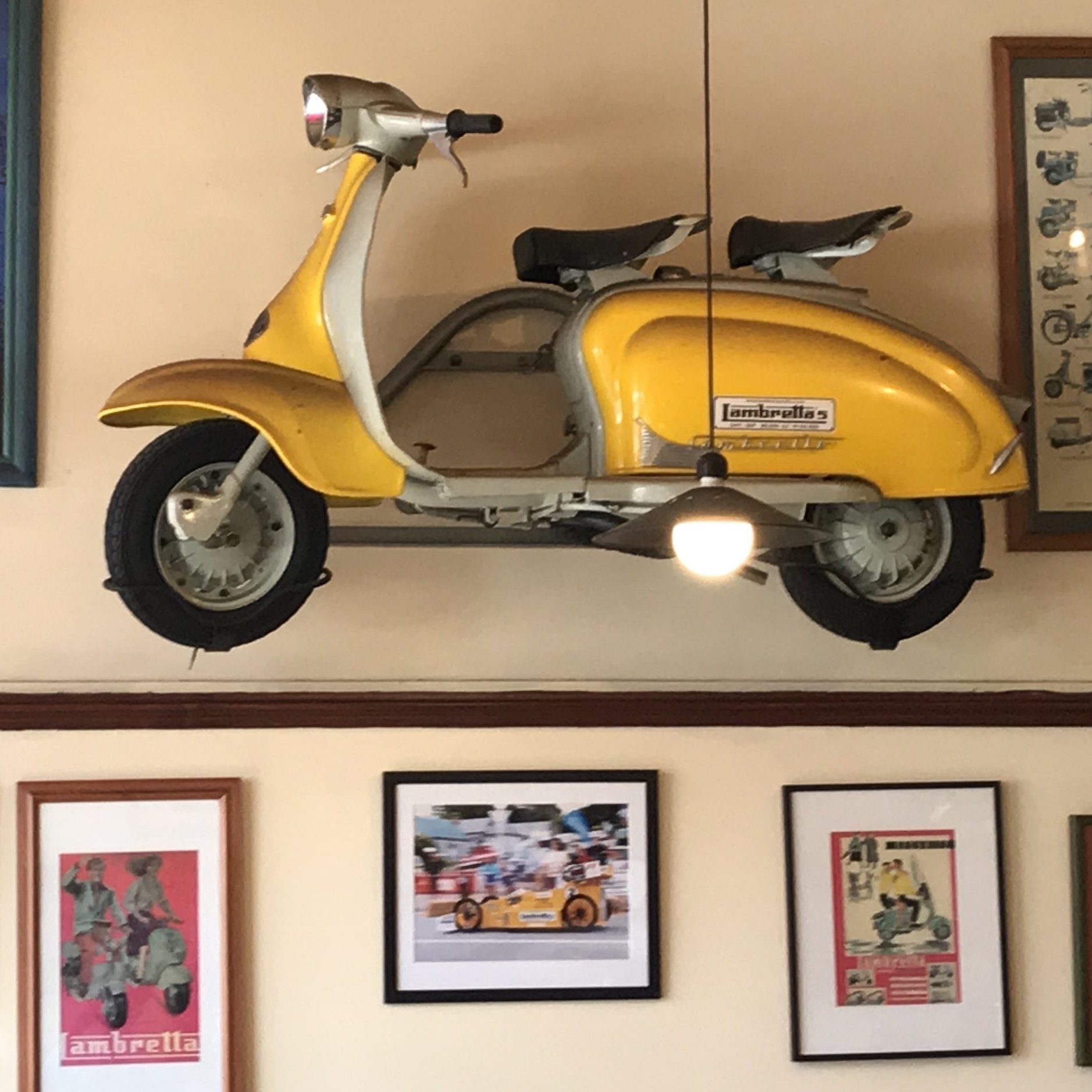 Lambretta's, Nelson. The Doubtful Traveller