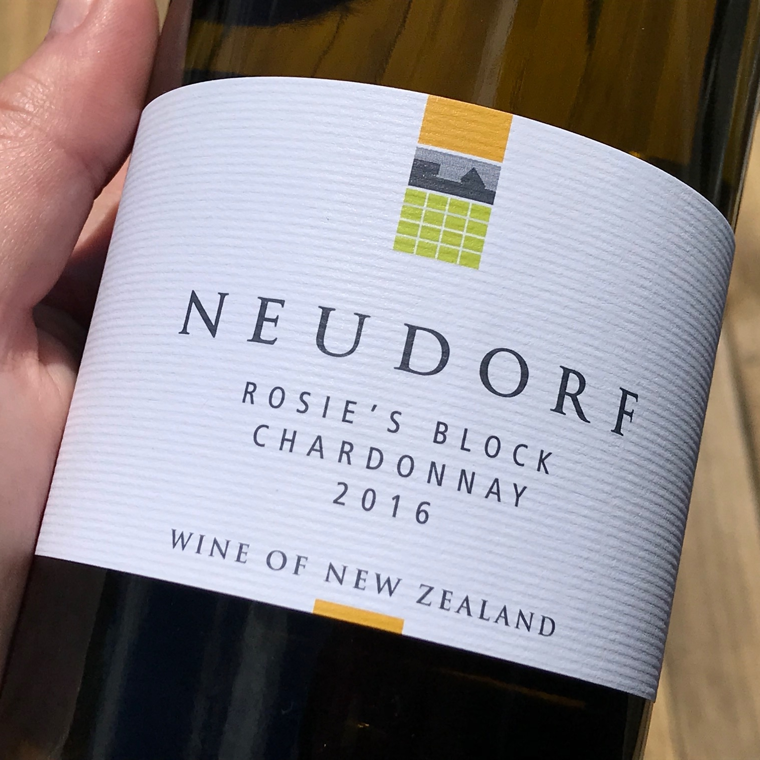 Neudorf chardonnay, Nelson. The Doubtful Traveller