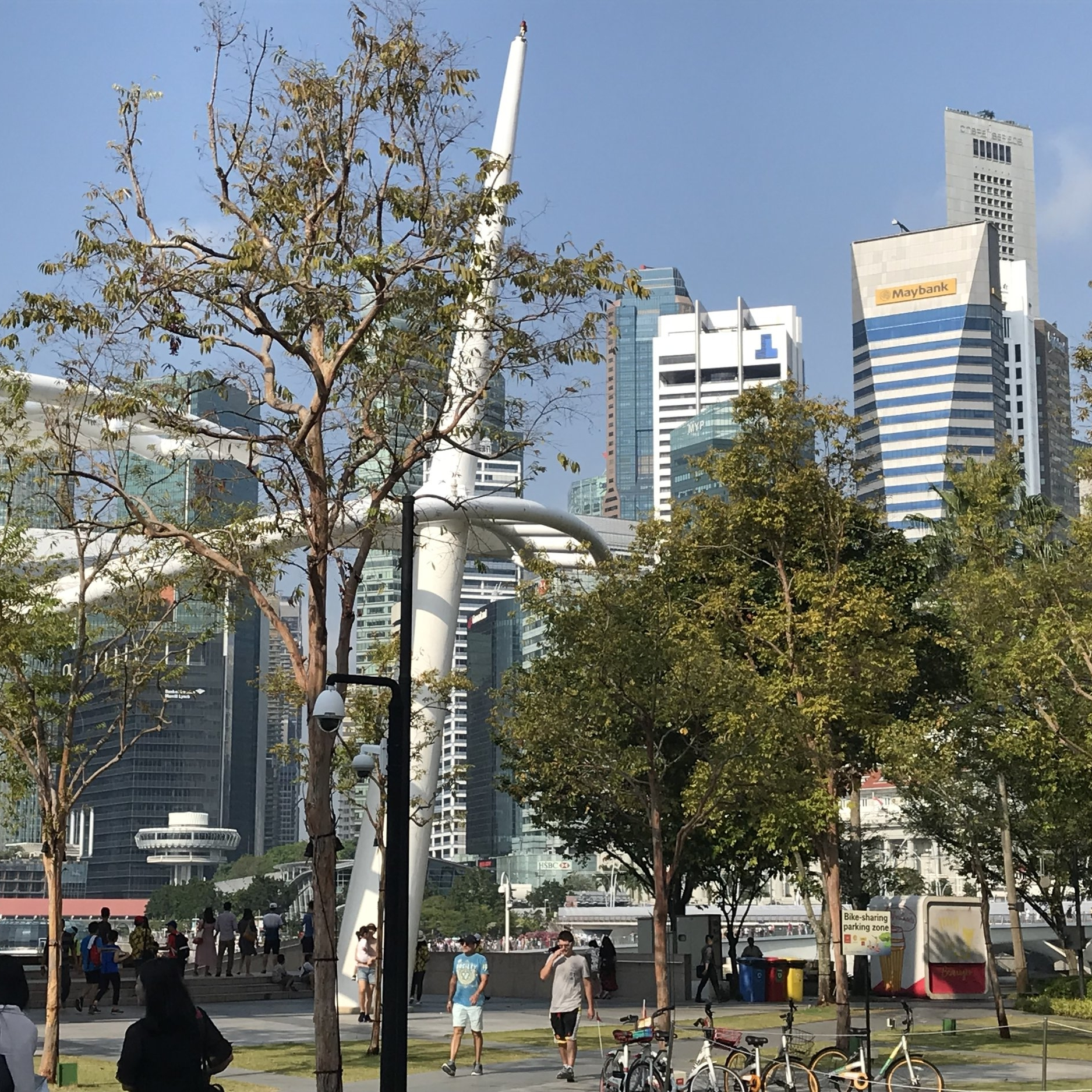 Singapore waterfront by The Doubtful Traveller