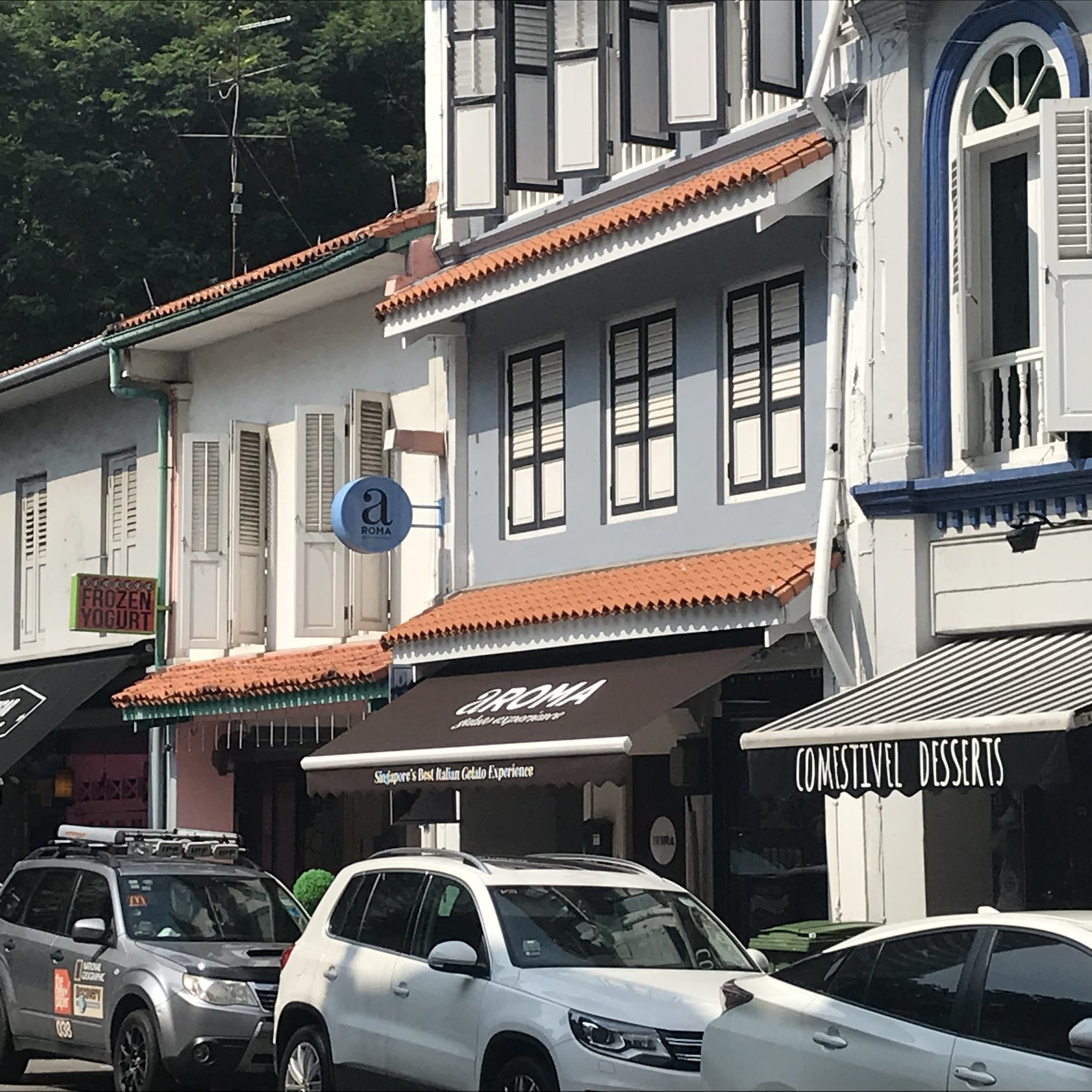 Singapore shophouses by The Doubtful Traveller