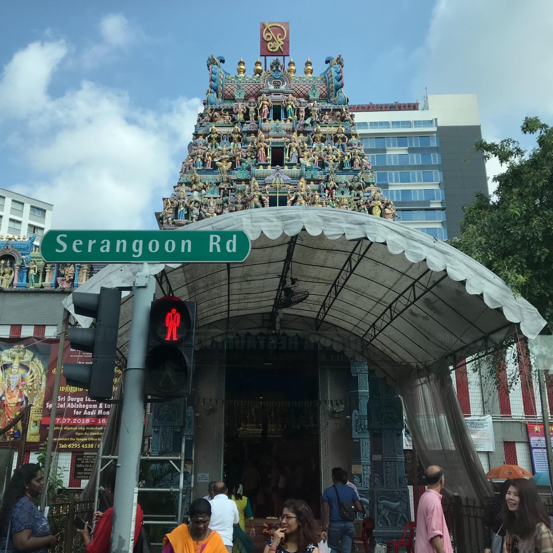 Sri Veeramakalimman Temple, Singapore by The Doubtful Traveller