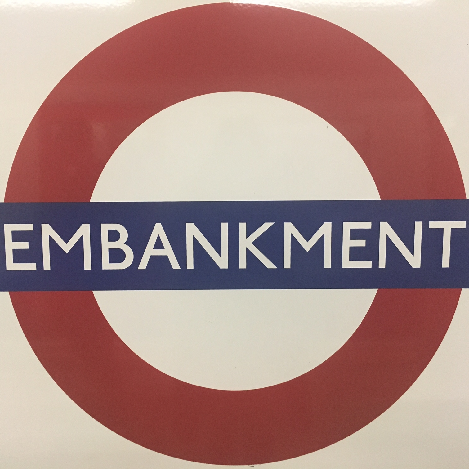 Embankment Tube station, London. The Doubtful Traveller