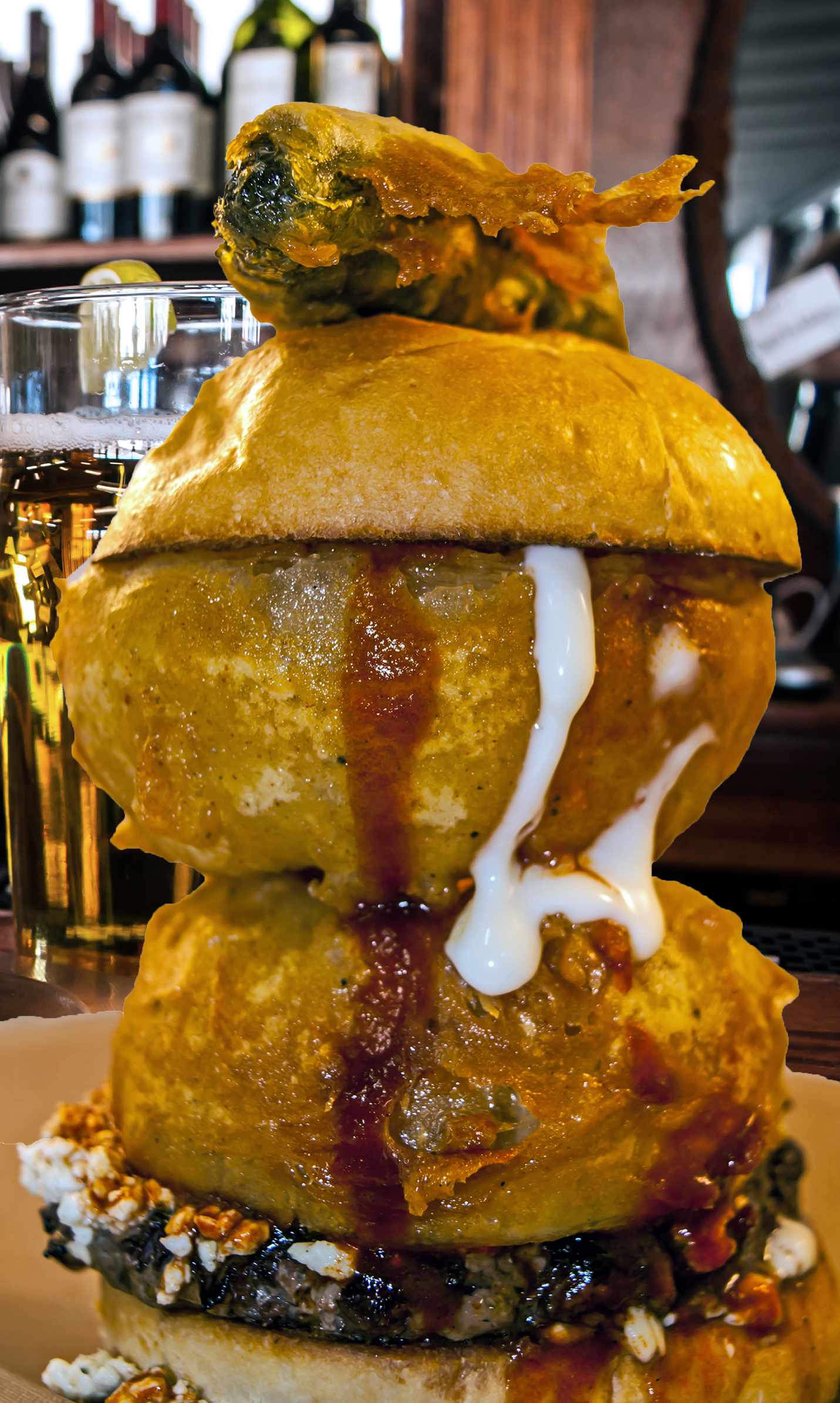 Bonfire Burger -