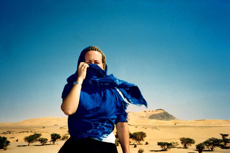 In the Sahara Desert, northern Niger. (photo by John Davis)