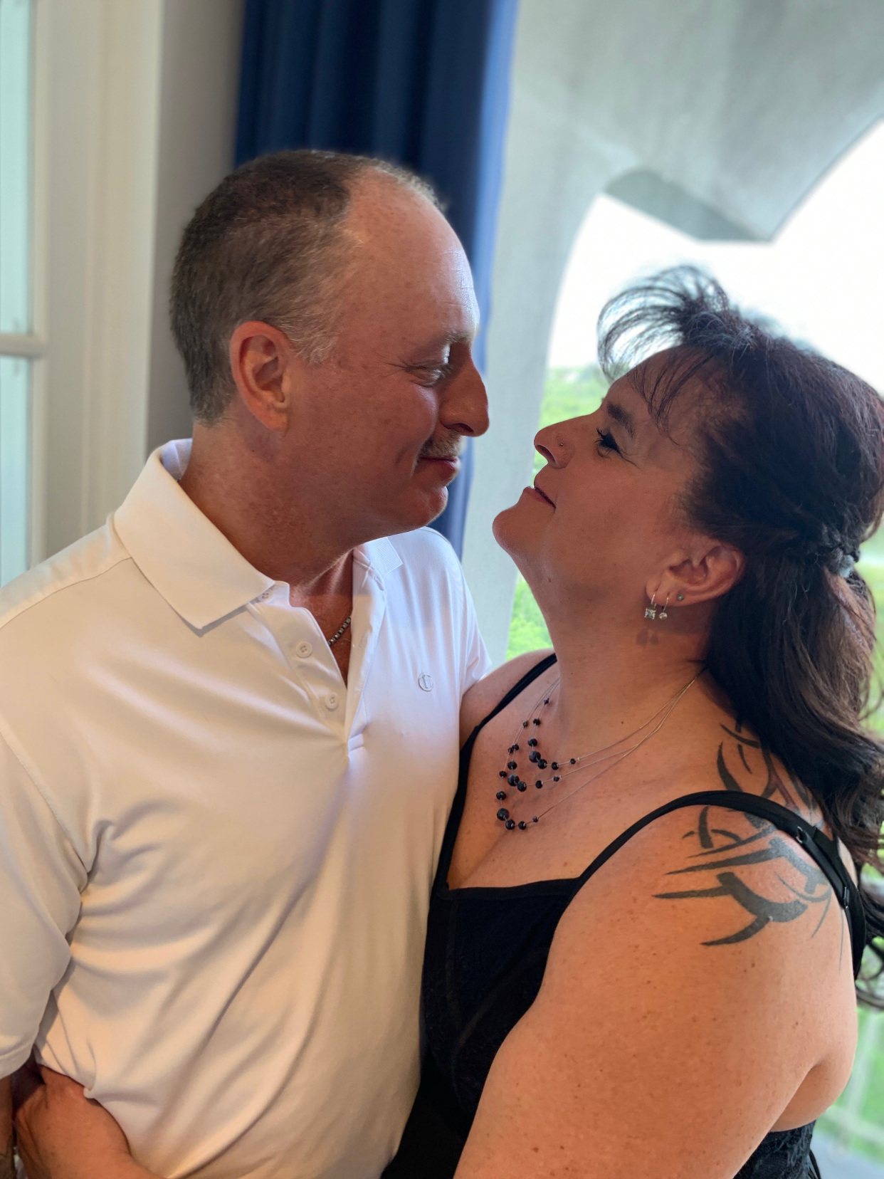 So in love at their vow renewal 21 years later
