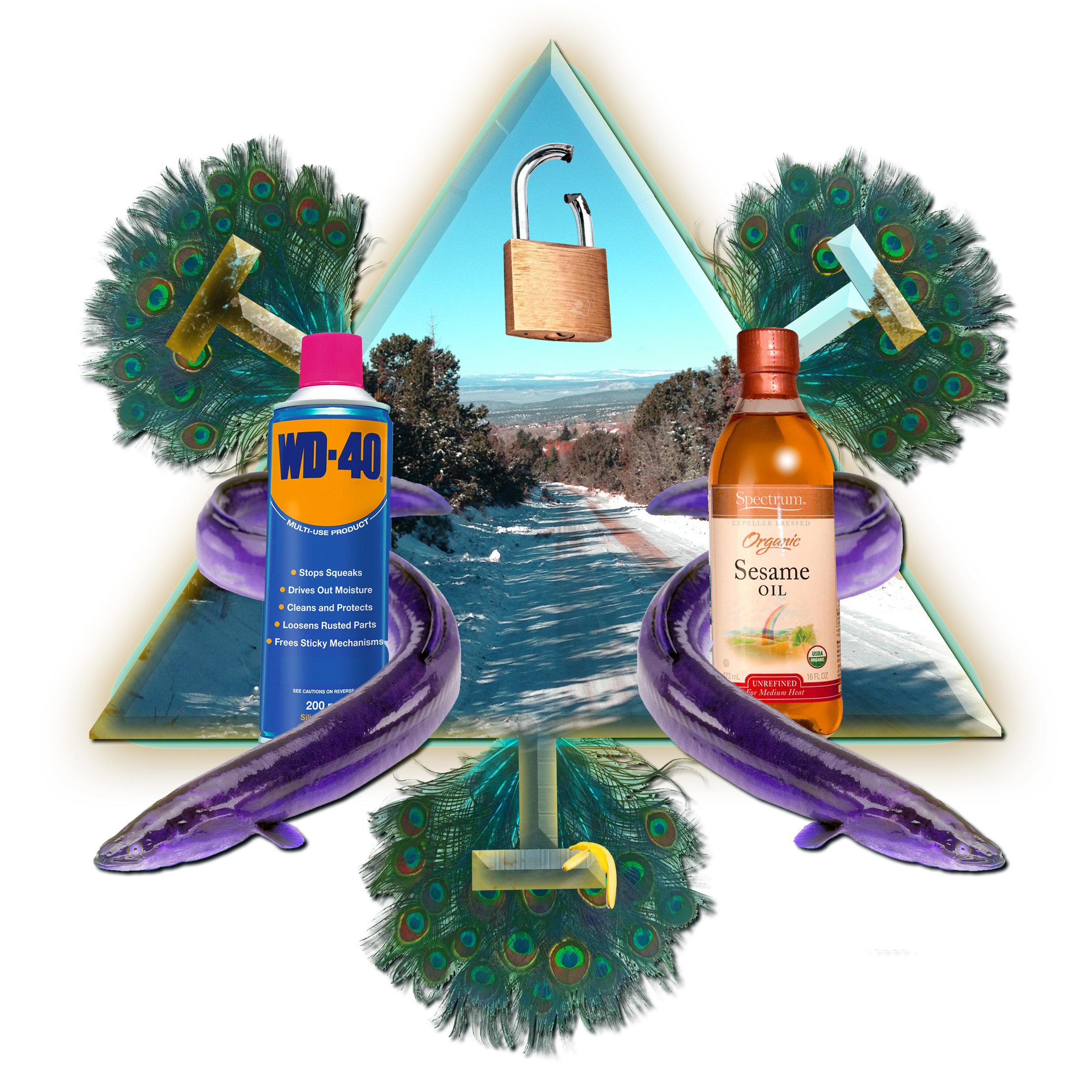 Icy Road  #Achievement  #Unlocked  #opensesame  #peacock  #slipandslide  #mandala  #eel  #bananapeel  #aromatherapy