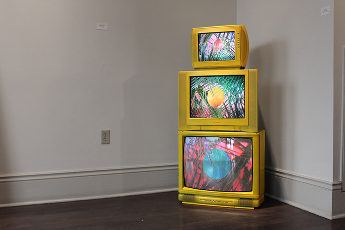 Installed at the Octavia Gallery, New Orleans, LA,2012