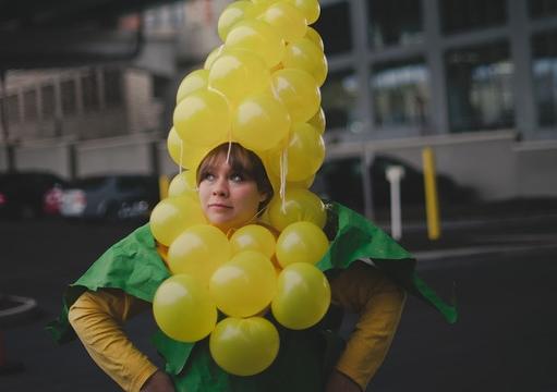 Me as an ear of corn.