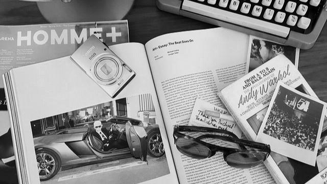 Karl Lagerfeld by Jurgen Teller, Arena Homme+