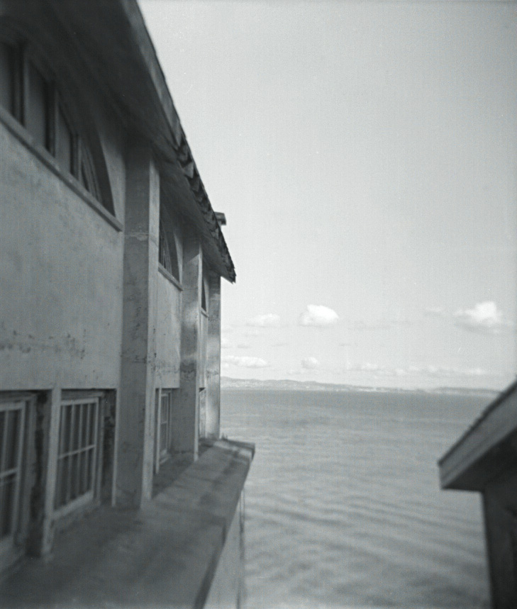 Alcatraz, April 2012   Holga, Tri X 400