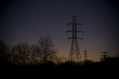 Ypsi Project : Power Tower Sunset, 1st Road (via  ericarhiannon )