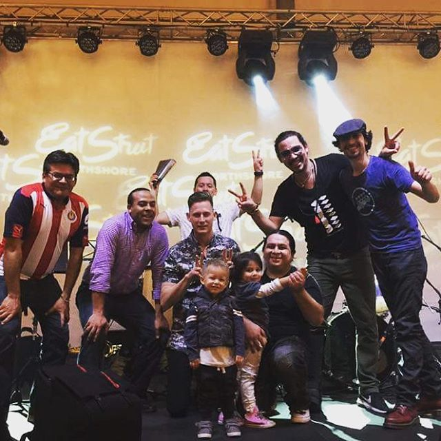 #Izalcoholics ready for more #FiestaTime ???? #izalco playing today at #eatstreetmarkets 5 and 6 pm  See you there Amigos!! #party #fiesta #latin #cumbia #music #fun #instajoy #instadance #instacumbia #latinos #brisbane #Australia #livemusic #band #brochachos