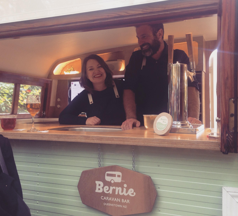 Bernie's people: Miira & Casey