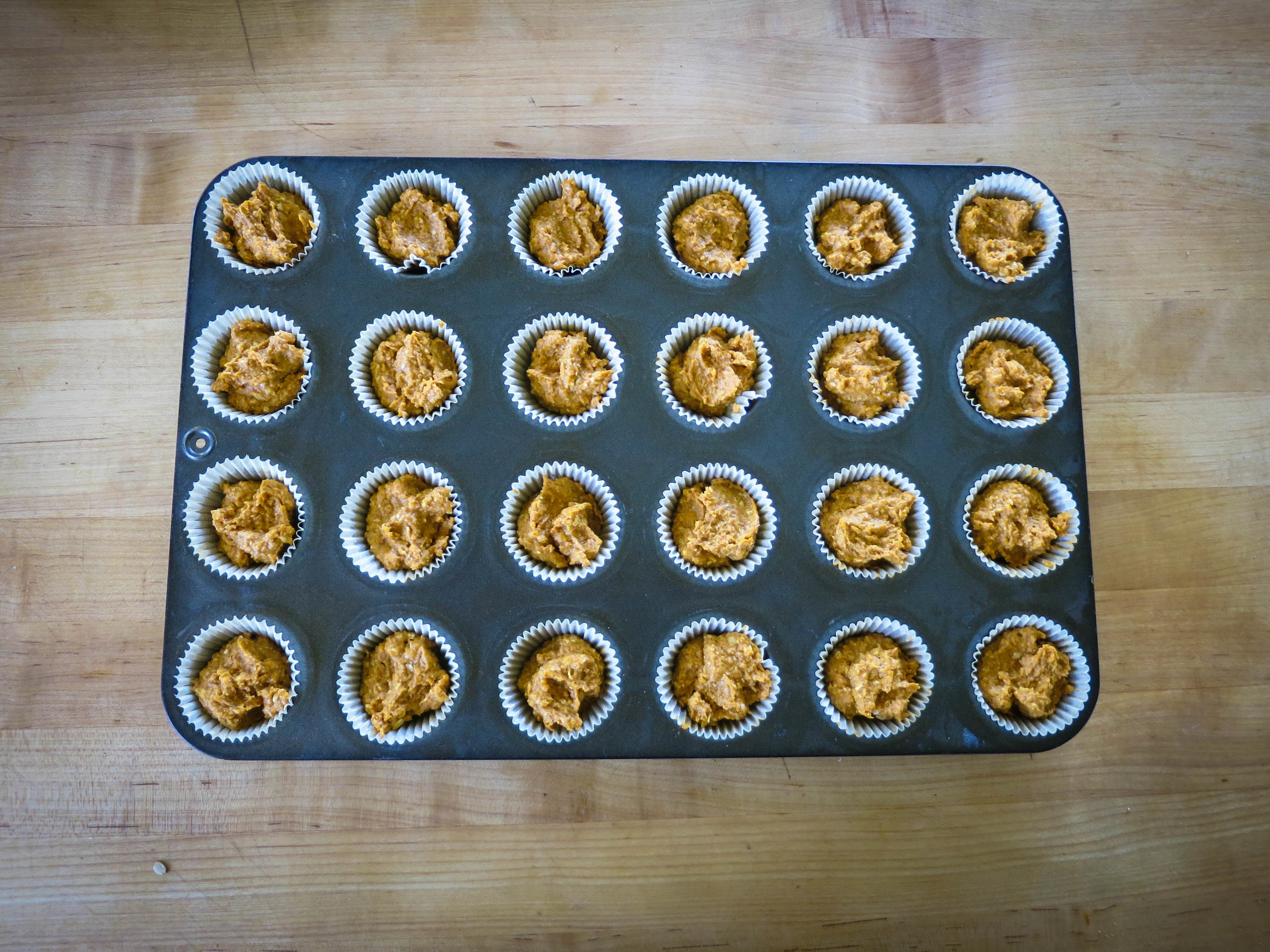 Sweet potato muffins easy