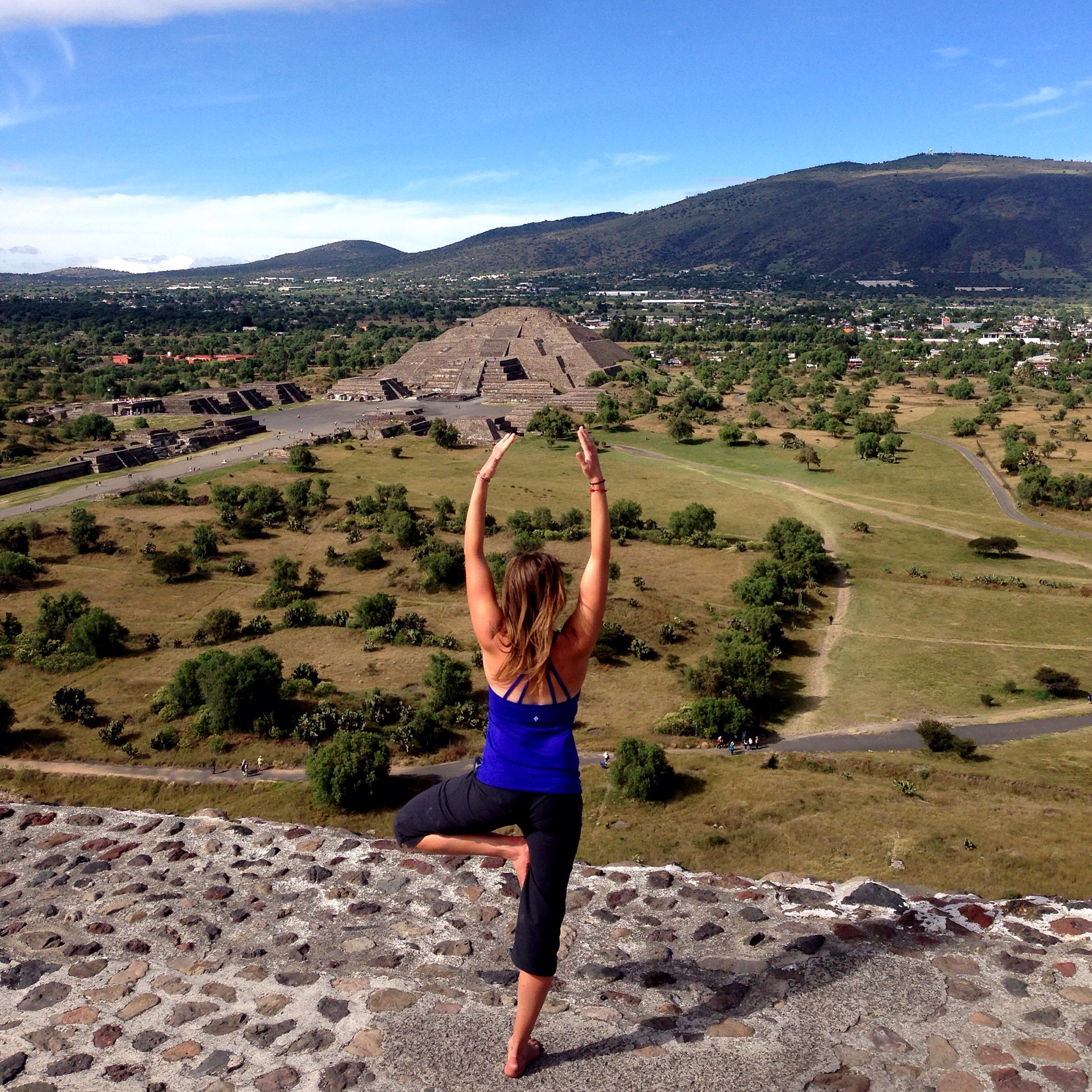 Renee in Mexico. Photo by Isaac Fleming.