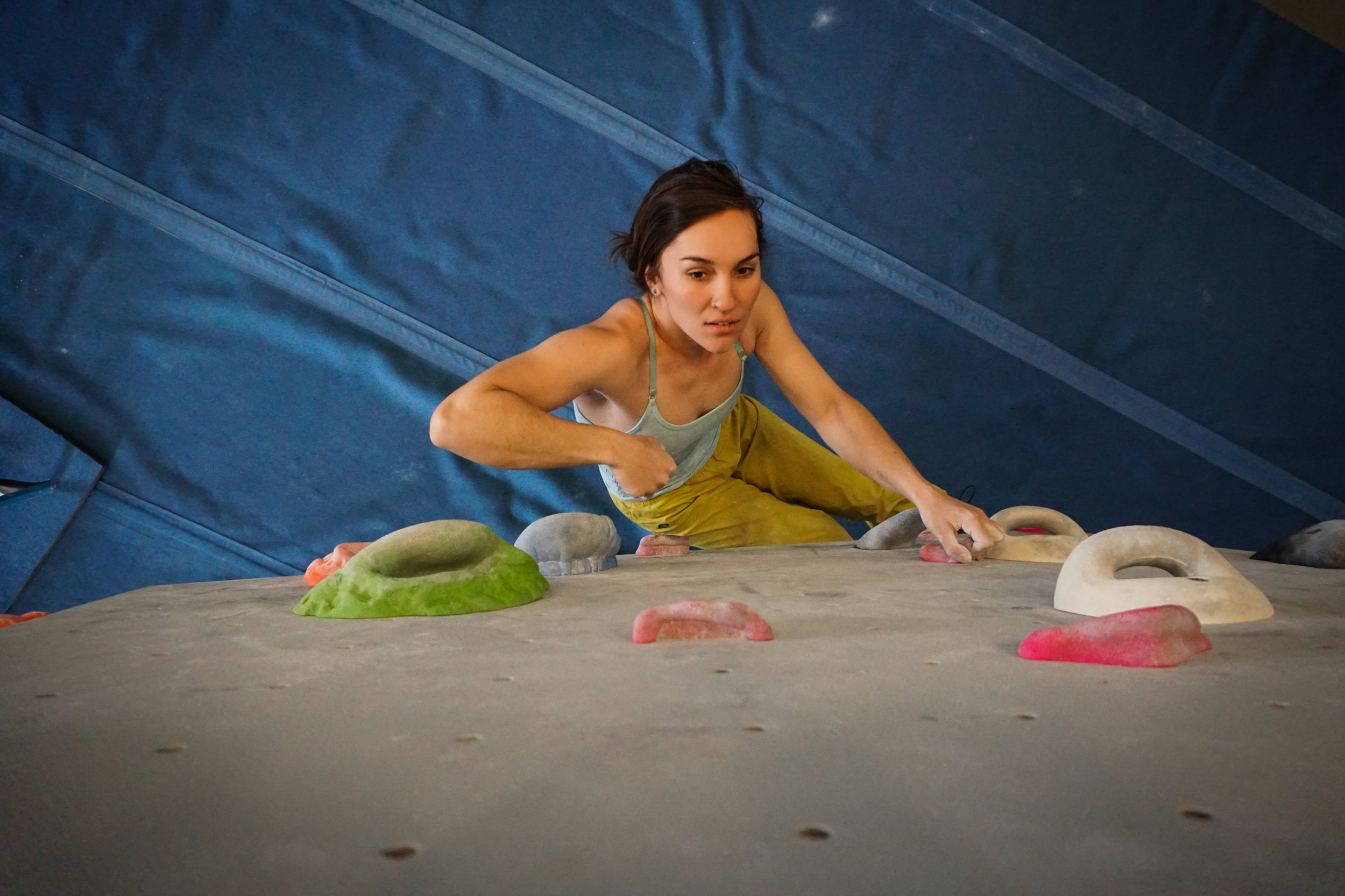The Work Behind the Body climbing beauty strength