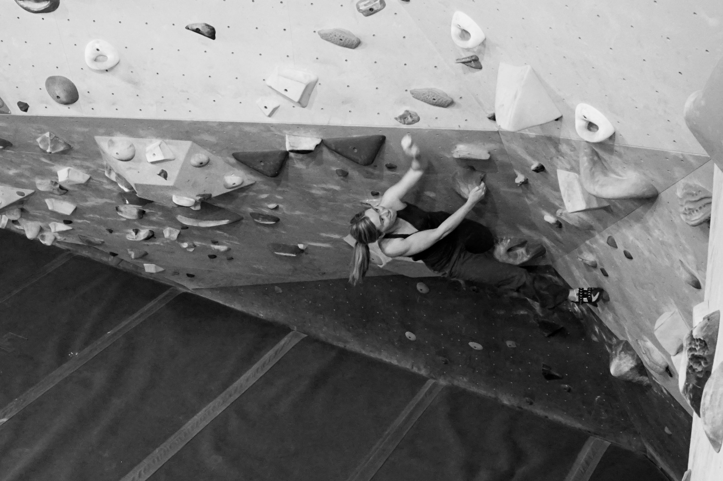 Strong women climbers talk beauty and training
