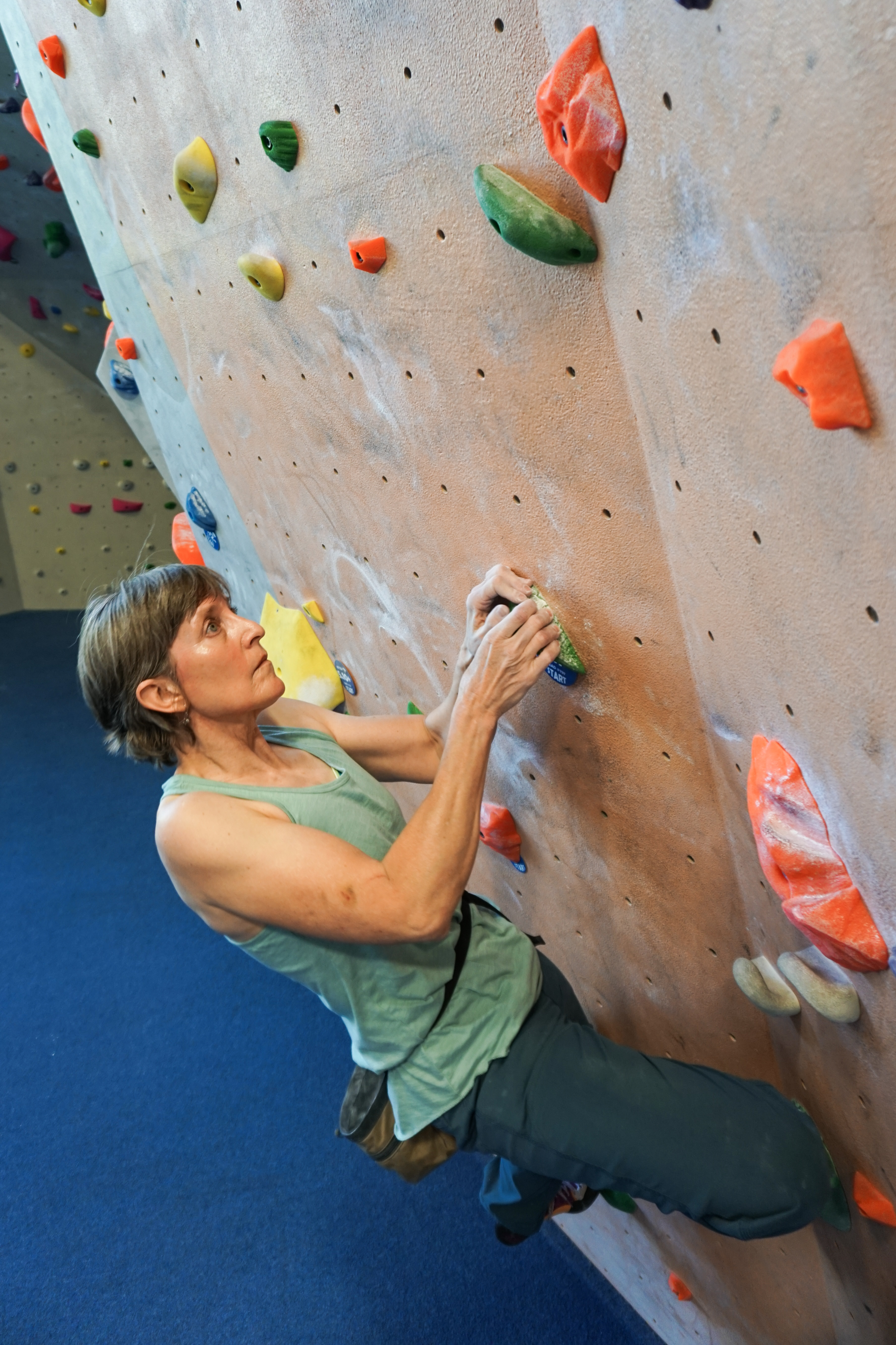 Gender age climbing