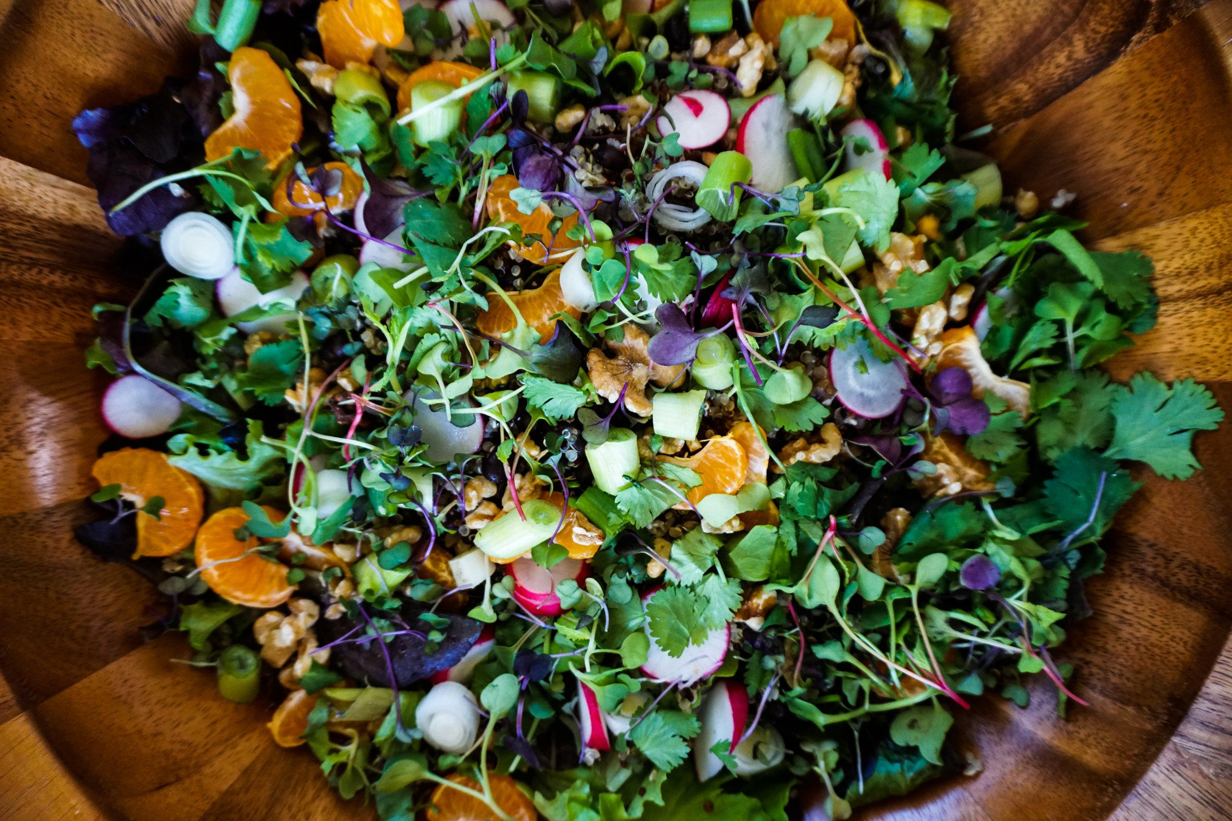 healthy amazing salad colorful