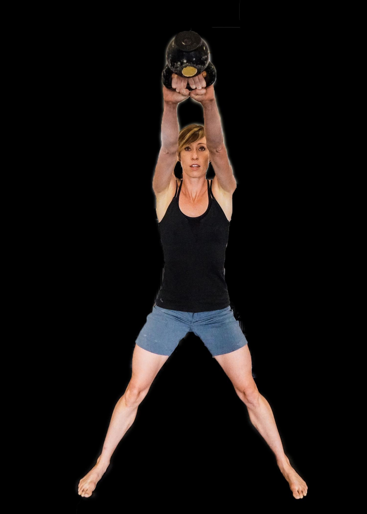 Heidi's legs - stronger than ever.