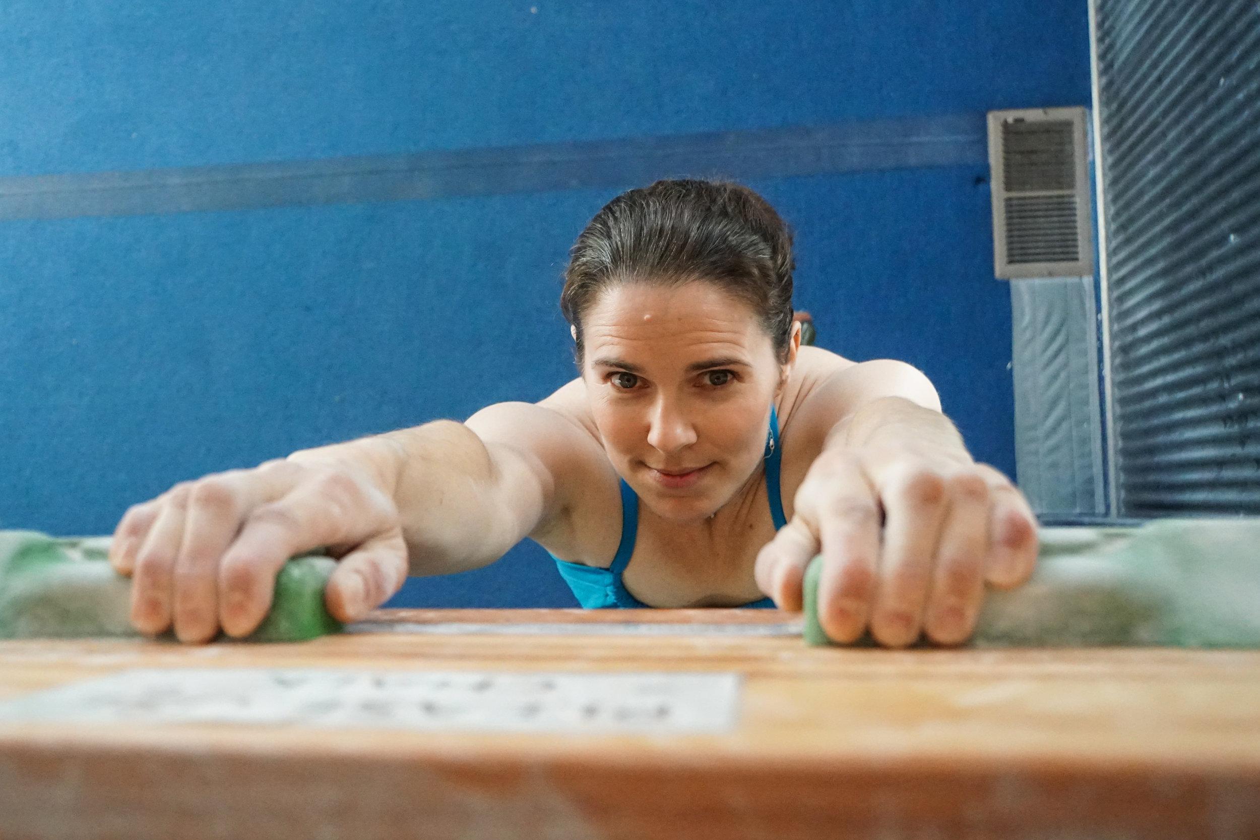 The Work Behind the Body hangboarding climbing