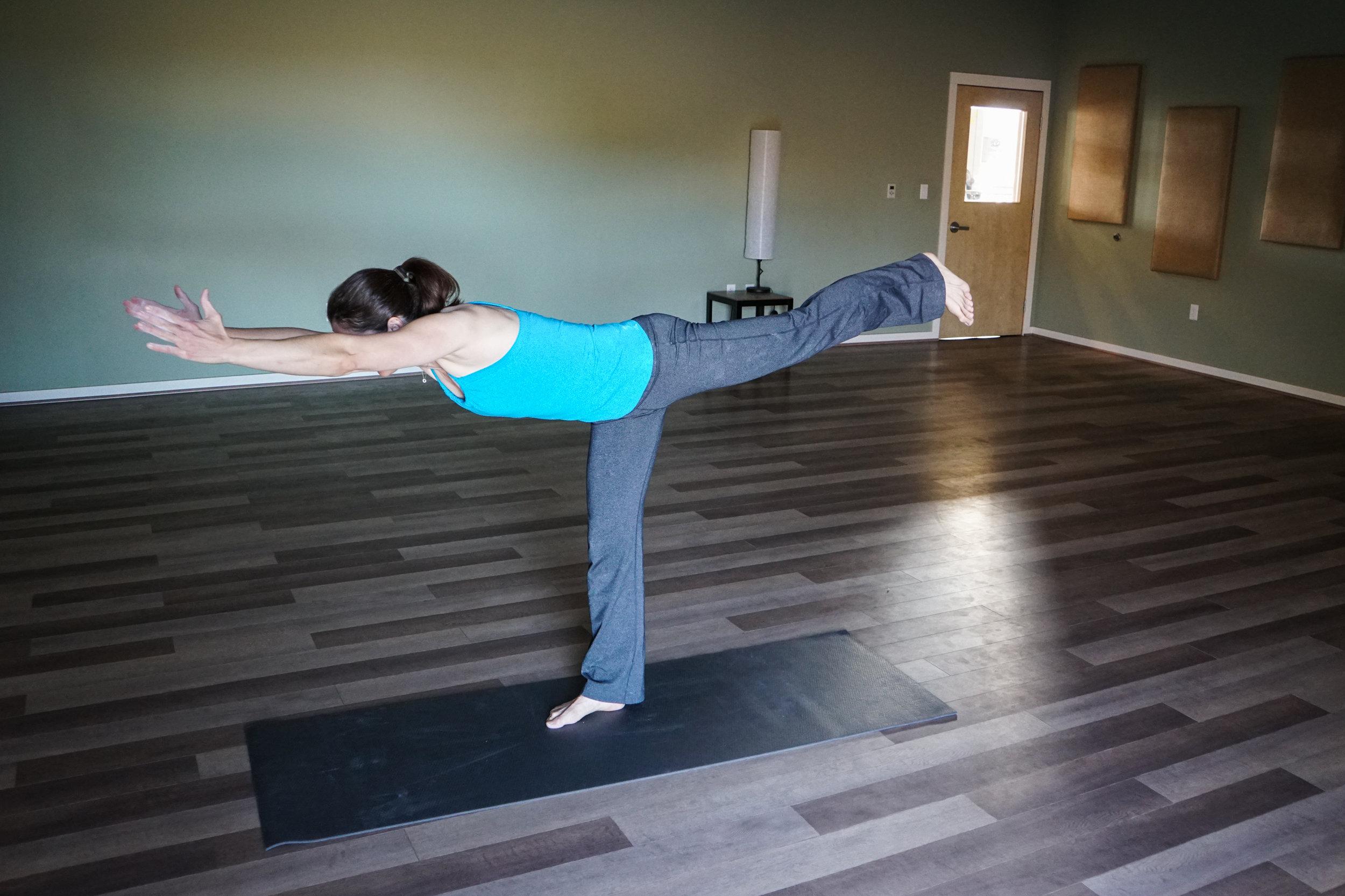 Yoga training postpartum