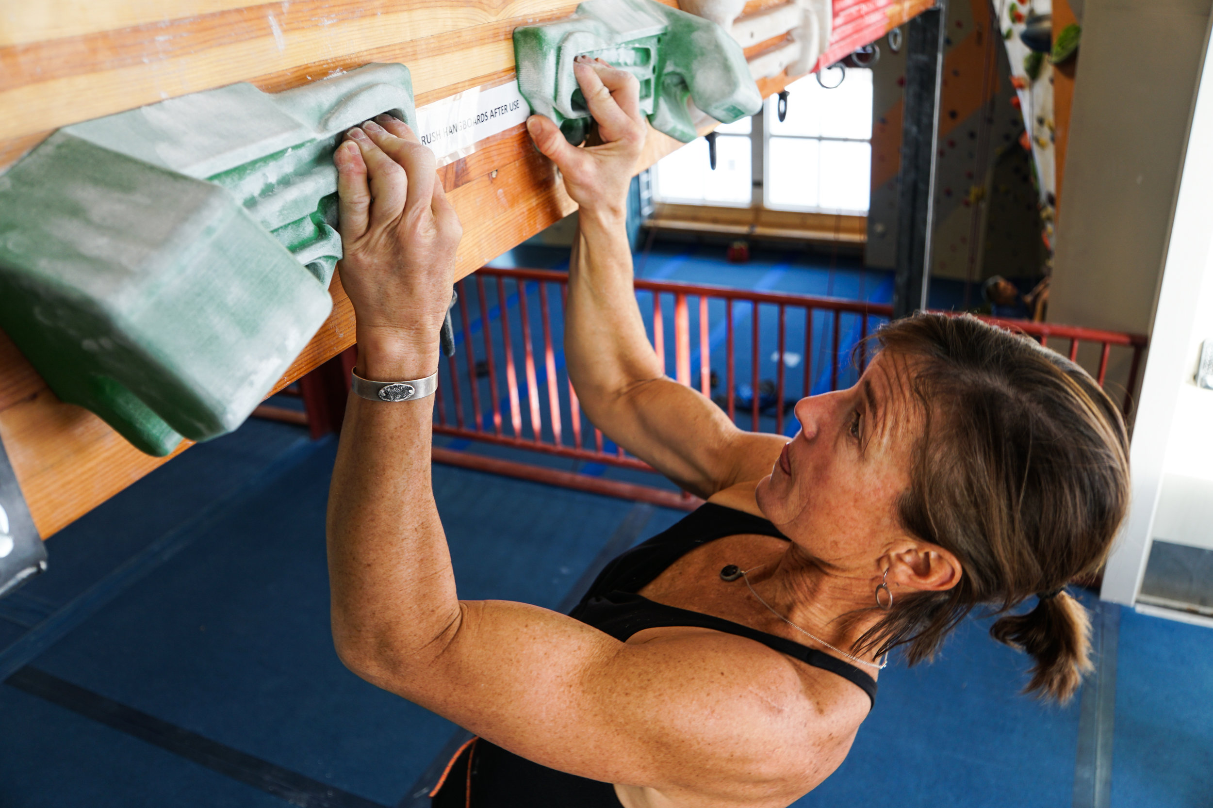 The Work Behind the Body Jeannie Wall talks training