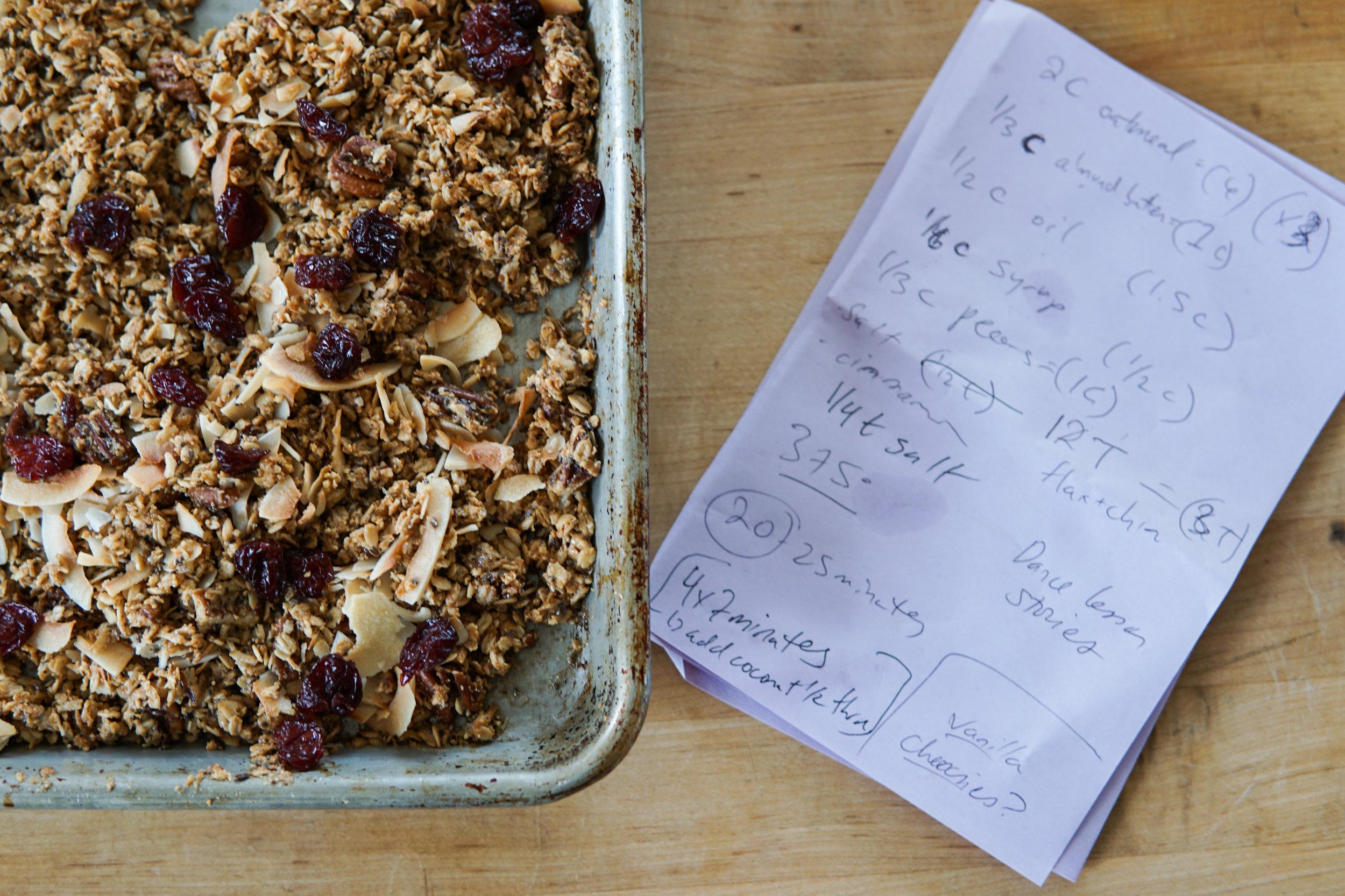 granola recipe healthy easy delicious