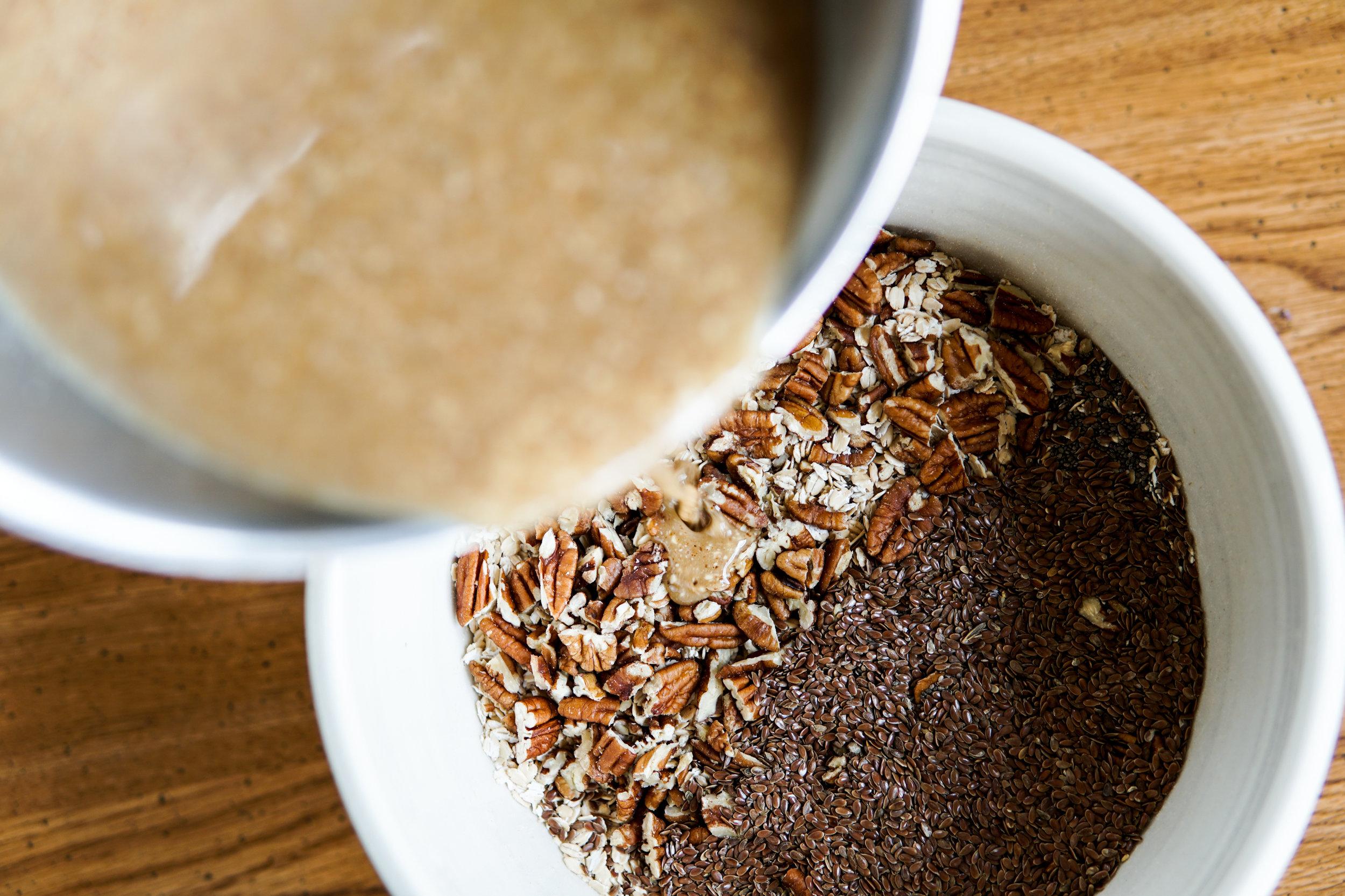 easy healthy granola gluten free vegan