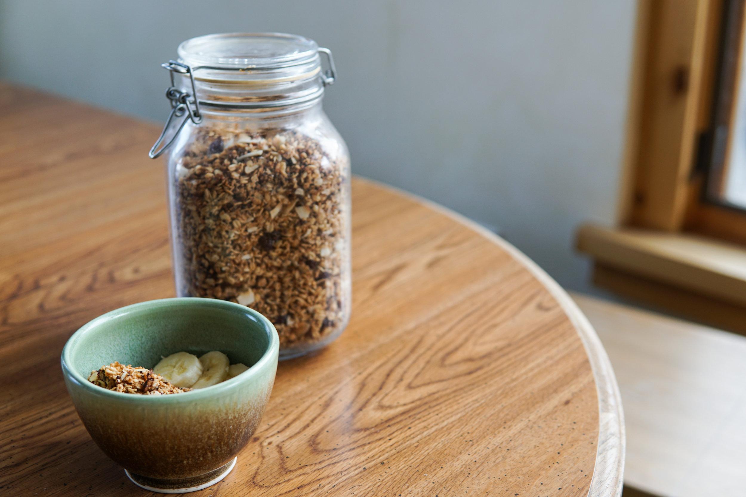 easy delicious healthy granola