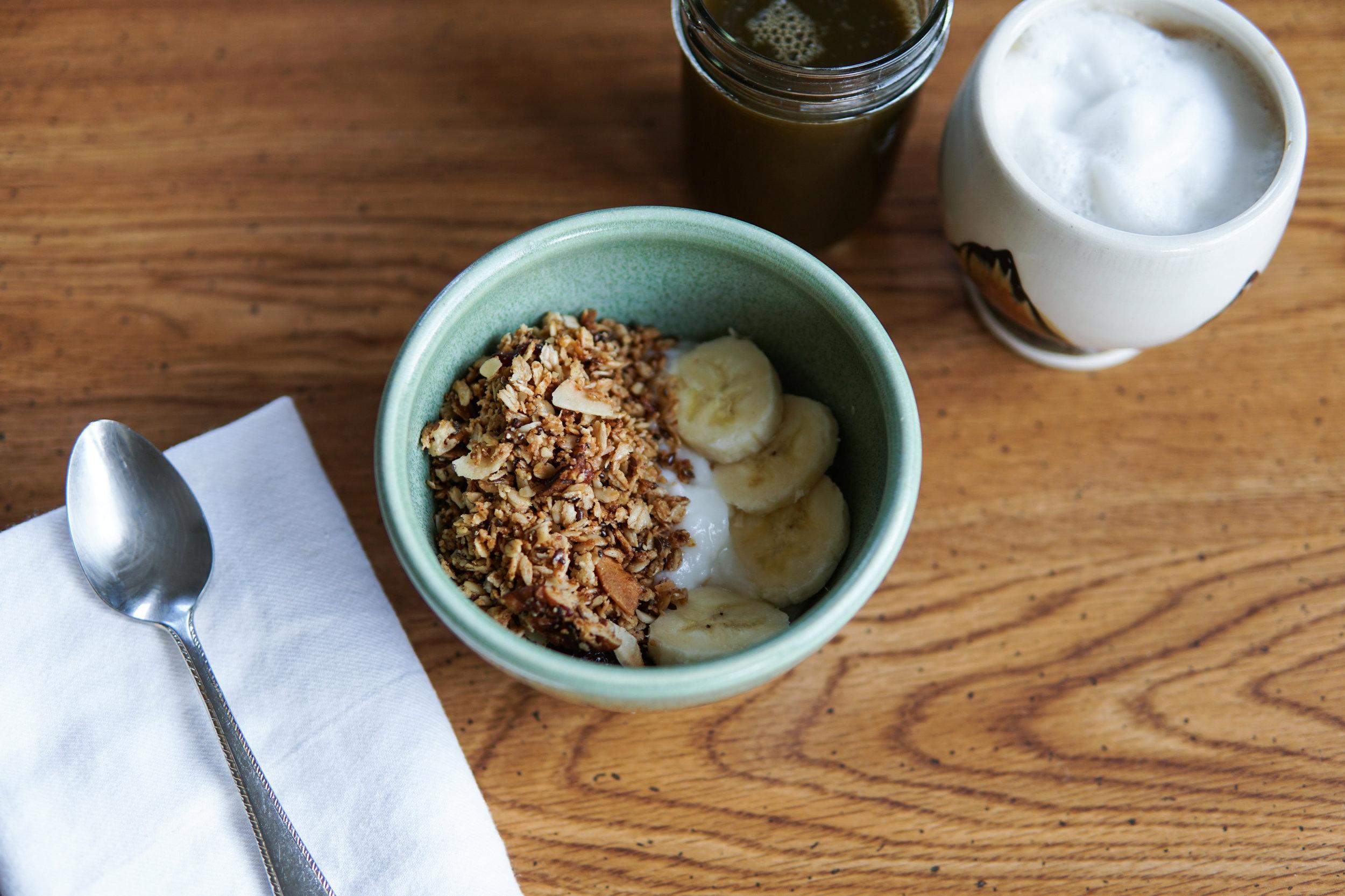 healthy breakfast easy recipe granola