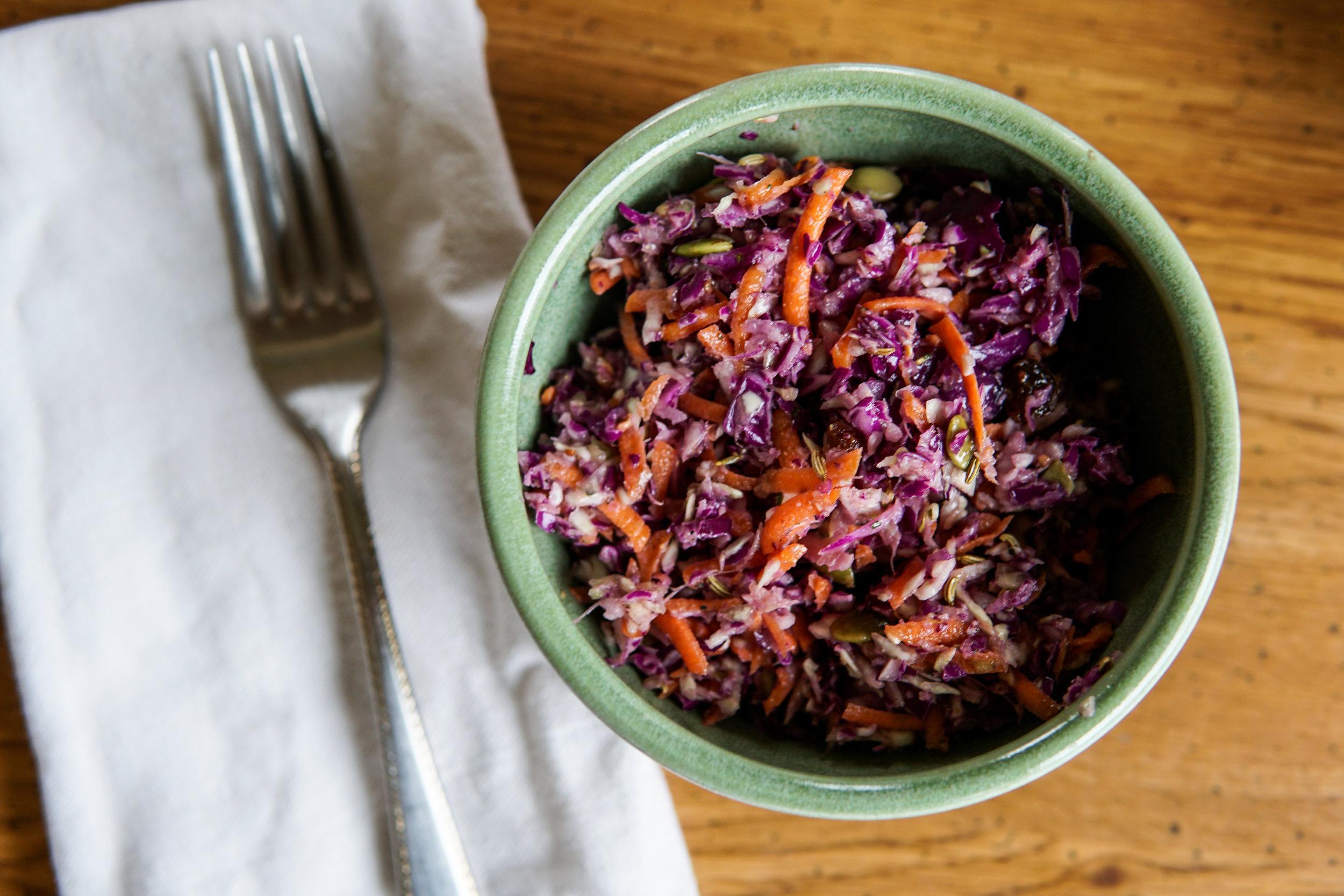 coleslaw easy healthy and delicious