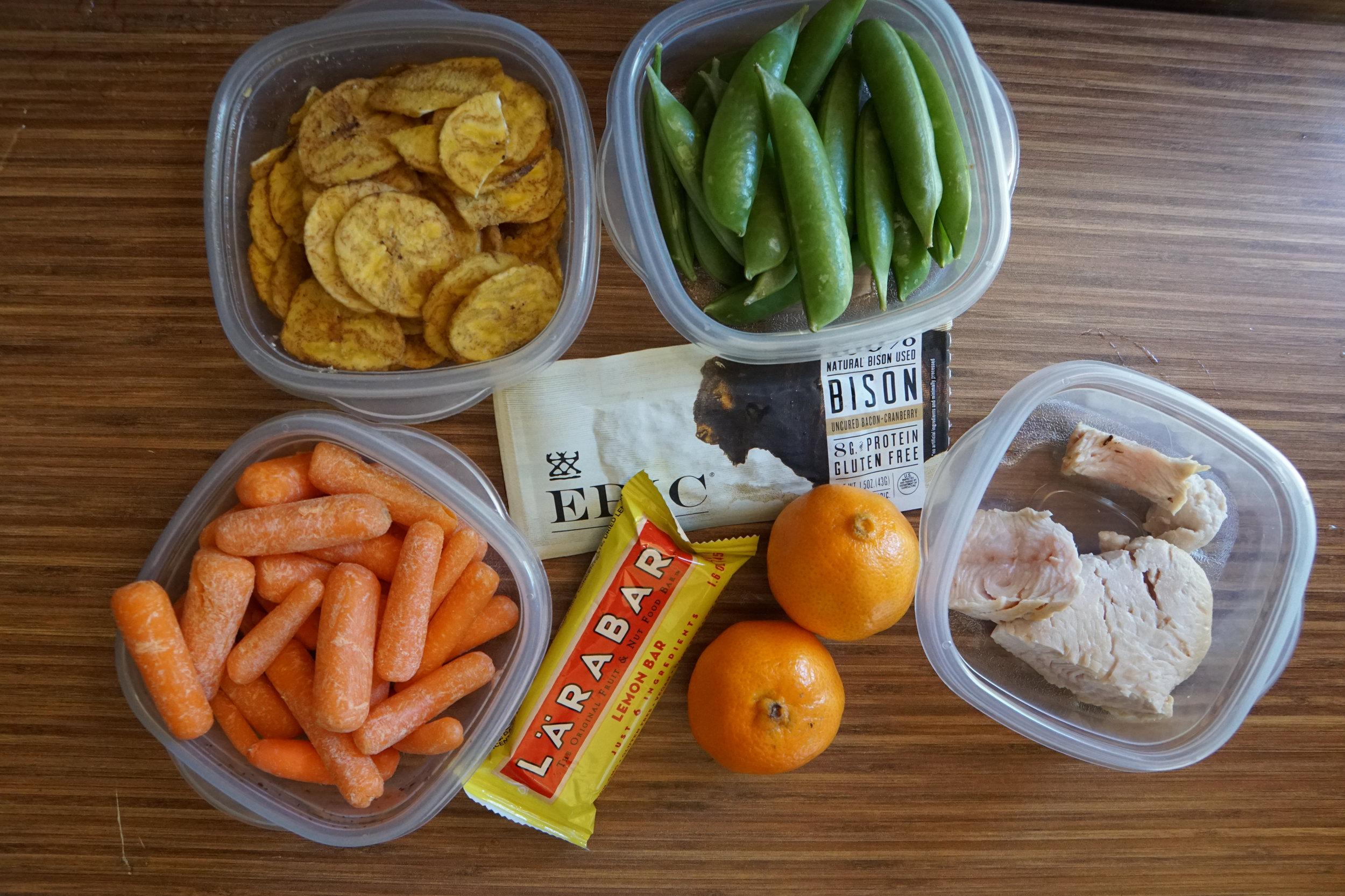 Healthy snacks outdoor fitness health coach
