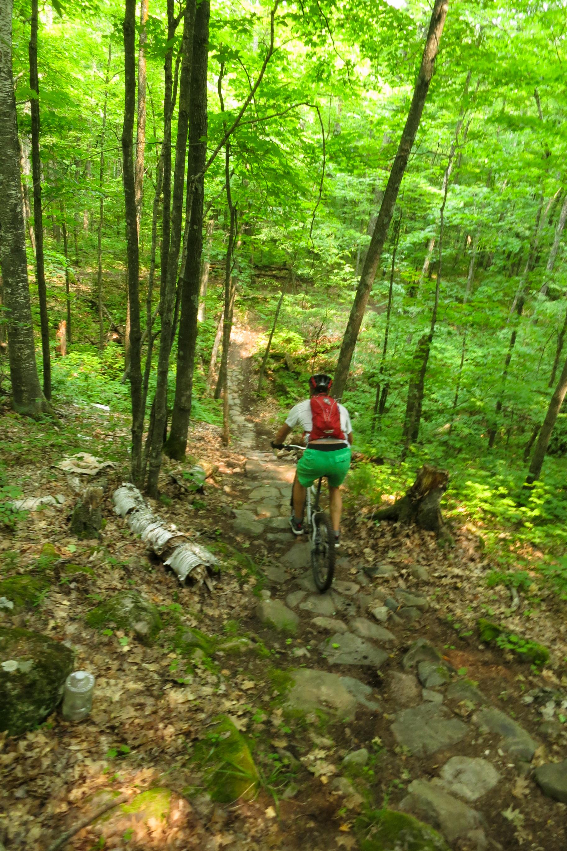 Mountain biking wisconsin outdoor fun adventure