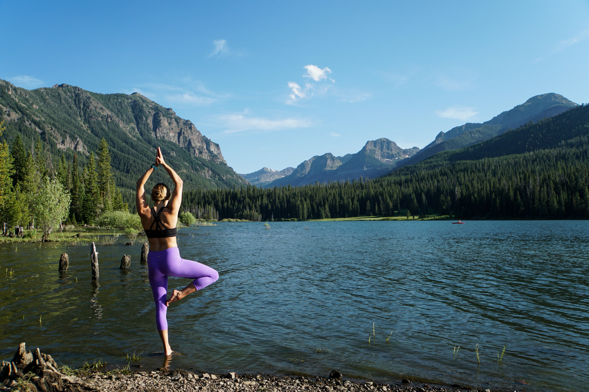 Bailey Evans yoga outdoors Bozeman Montana.jpg