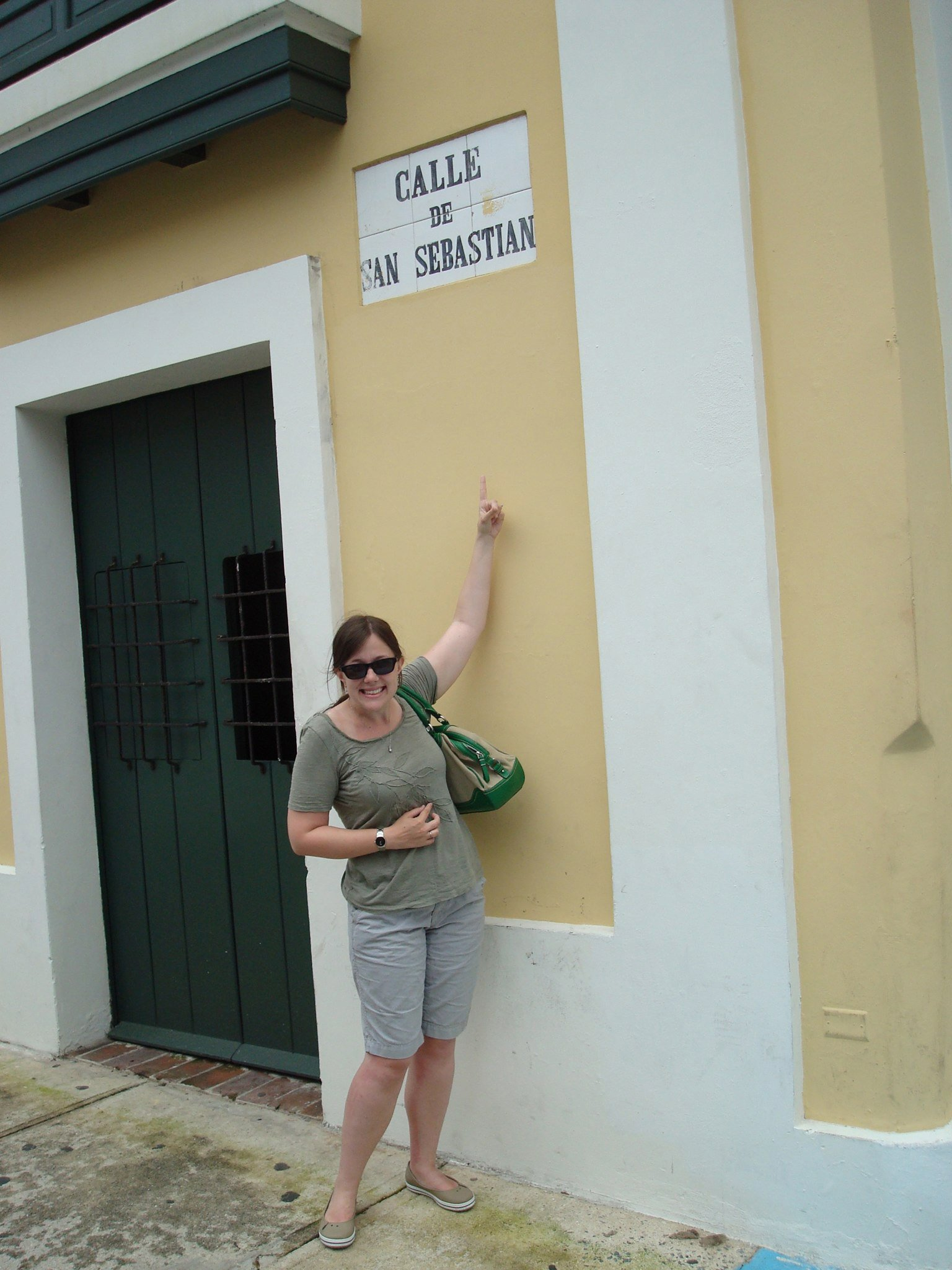 Pretty excited to find Calle de San Sebastian when I first arrived in San Juan, PR (I was living in San Sebastian, Spain at the time!)