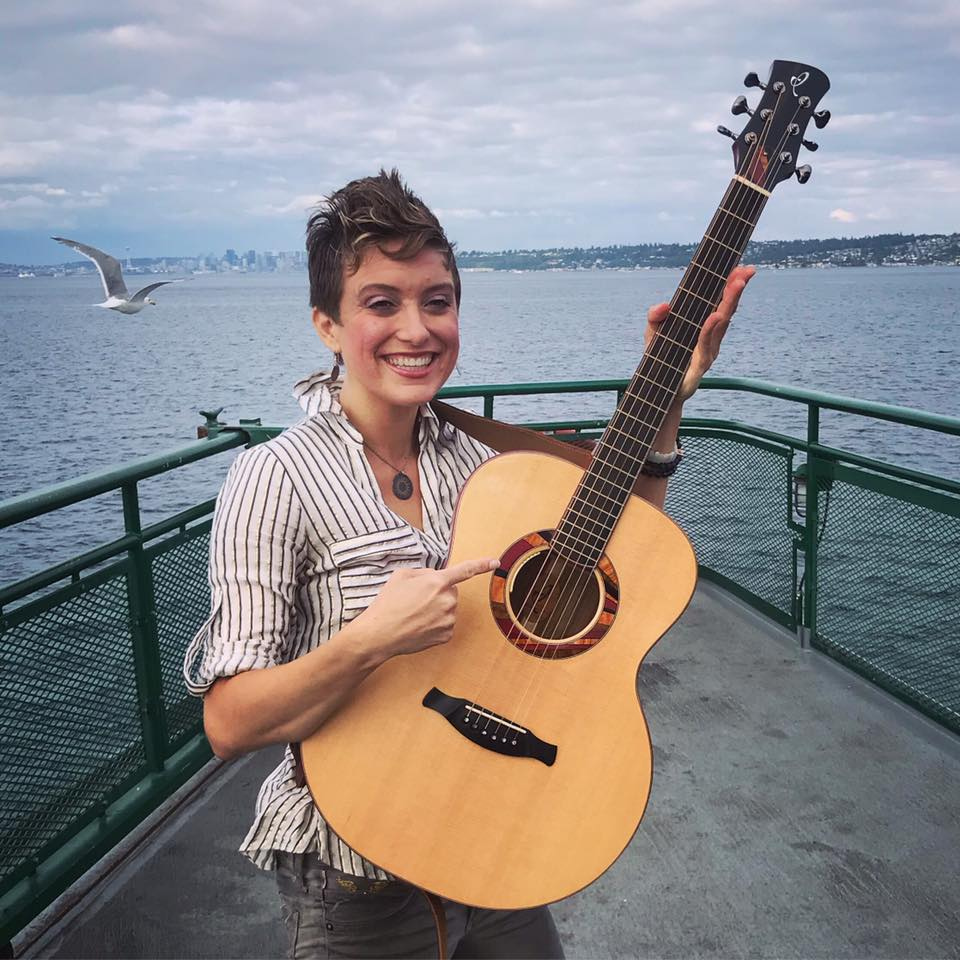 "Christie Lenée - 2017 International Fingerstyle Champion""I am utterly blown away by this instrument and feel deeply grateful for the opportunity to play it. His instruments are like nothing I've ever experienced!""live facebook video check it out"